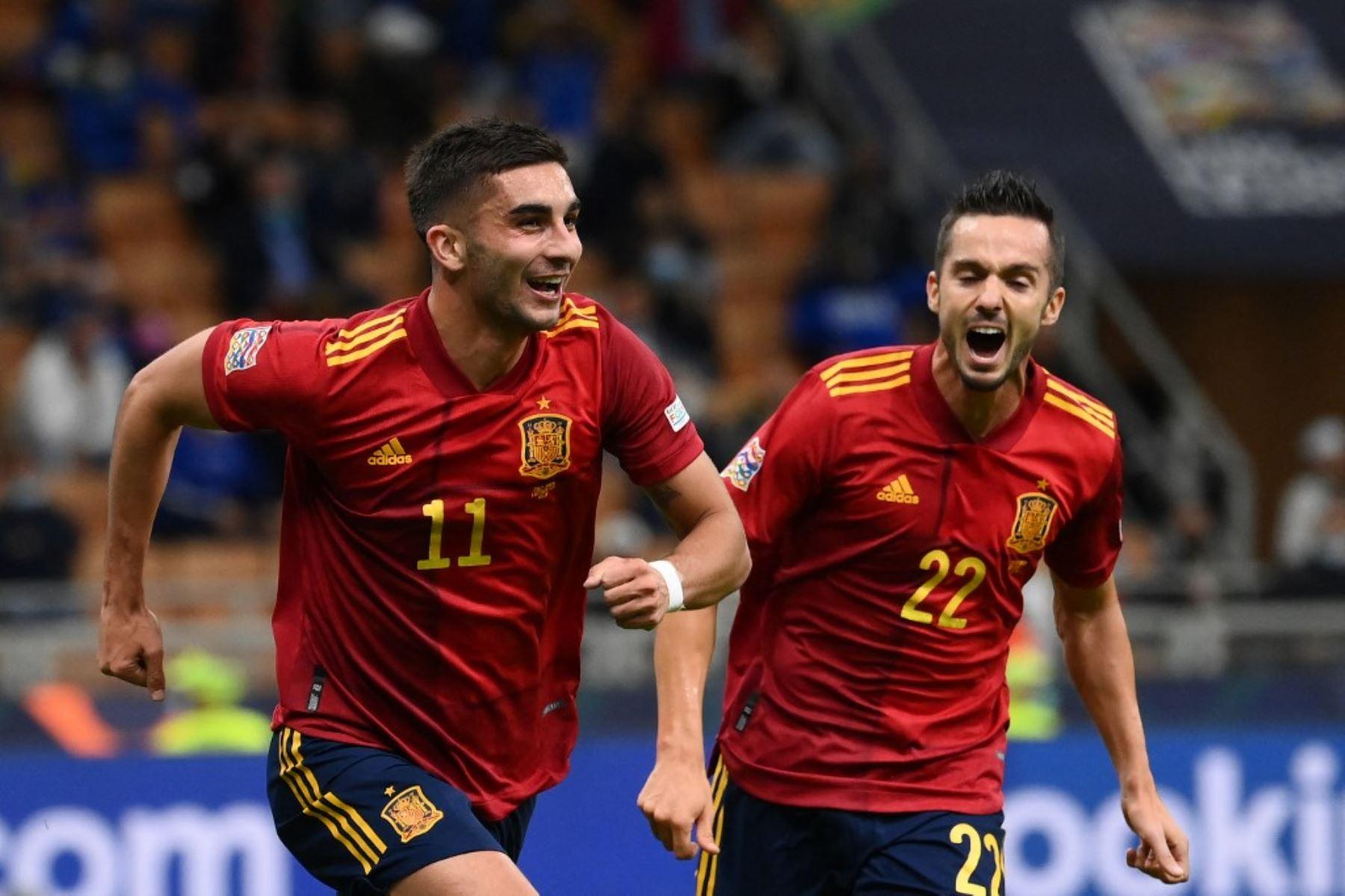 España rompe el récord de Italia y jugará la final de la Liga de Naciones