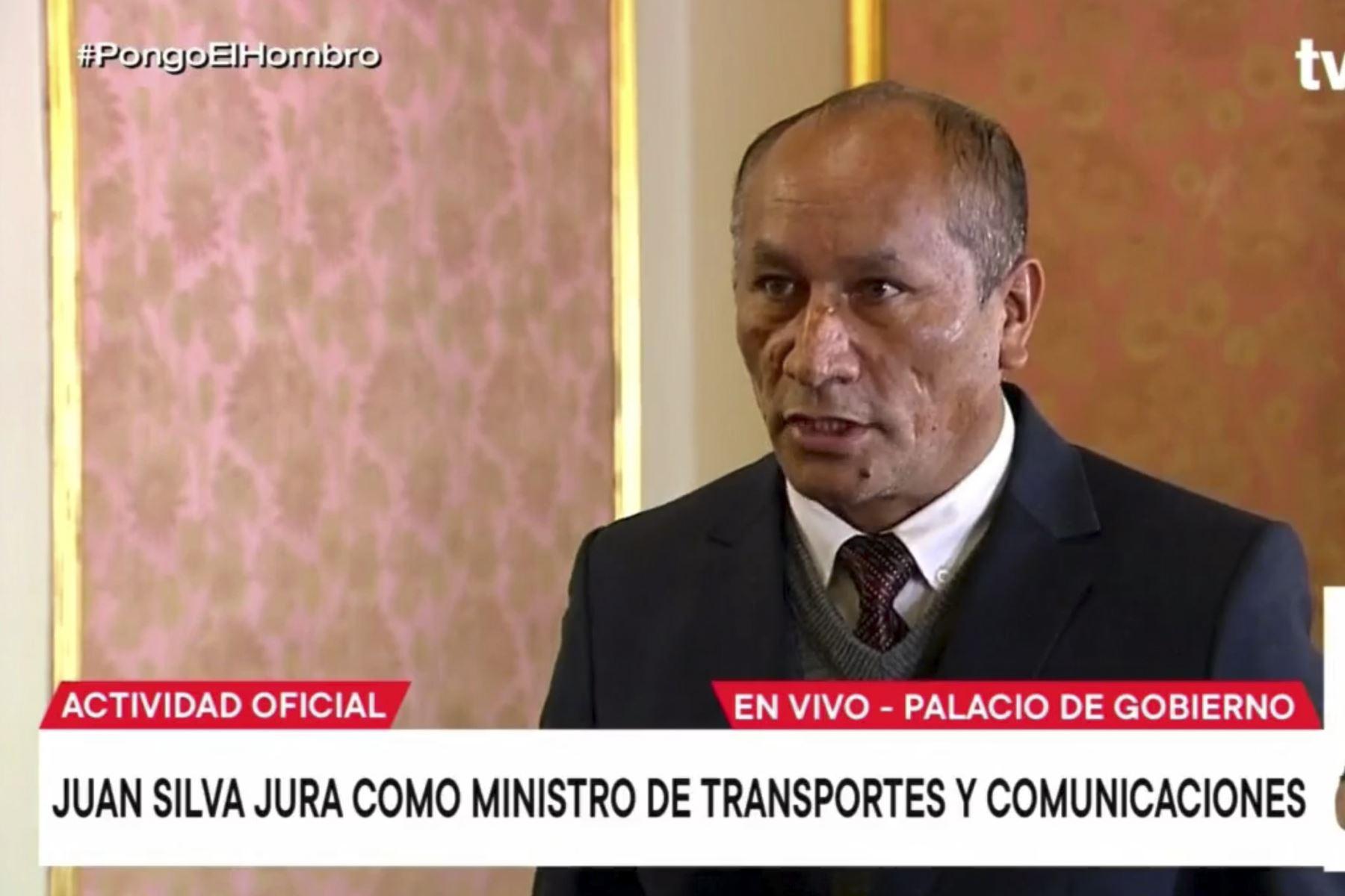 Juan Silva Villegas es ratificado como ministro de Transportes y Comunicaciones
