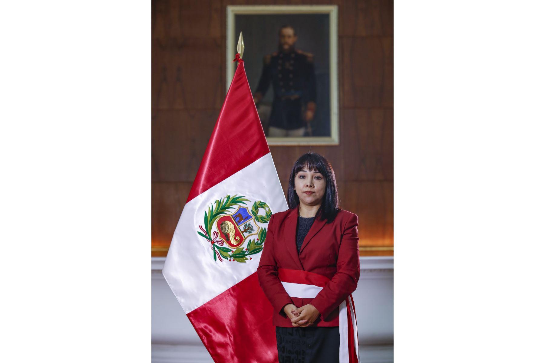 Mirtha Vásquez: trabajaré por el Gobierno del pueblo y las reformas que necesita el país