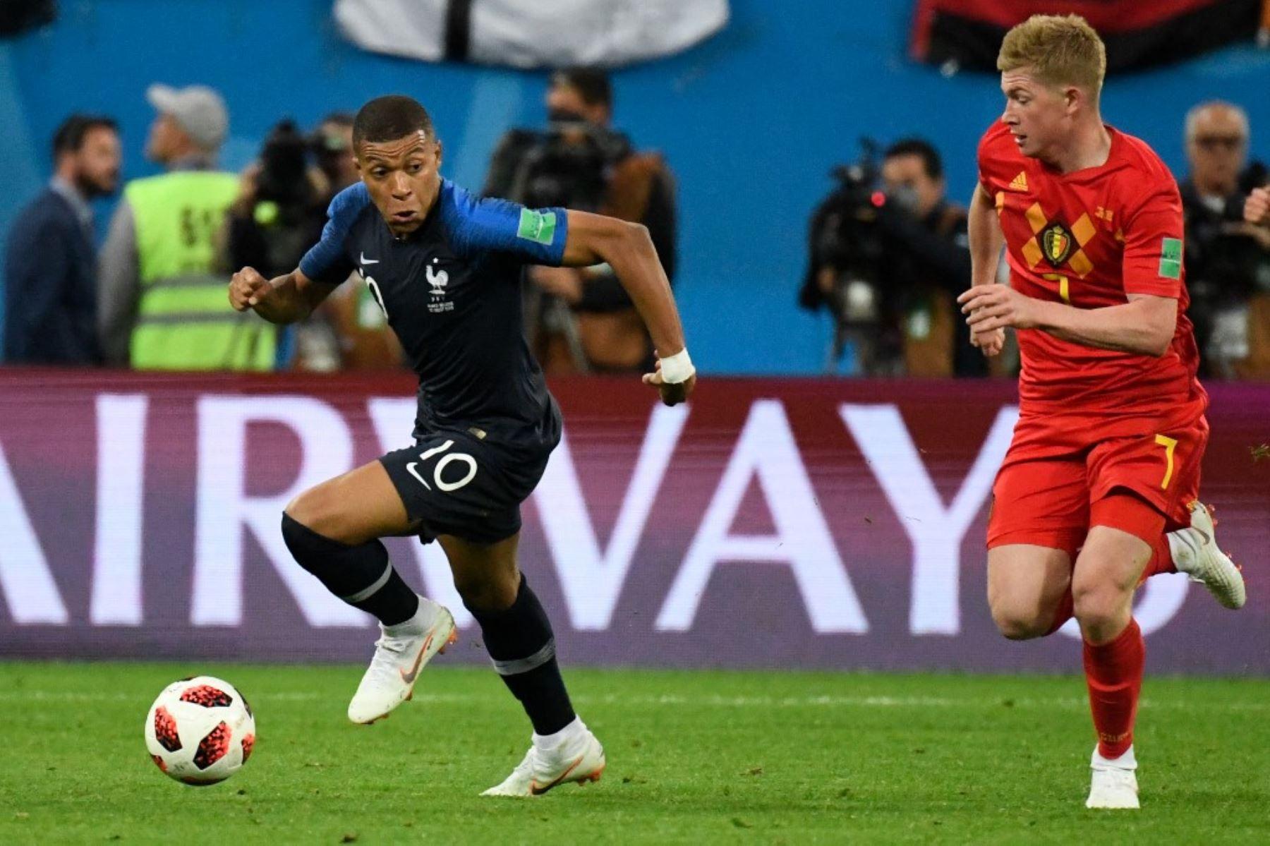 Bélgica-Francia partido electrizante por un lugar en la final de la Liga de Naciones