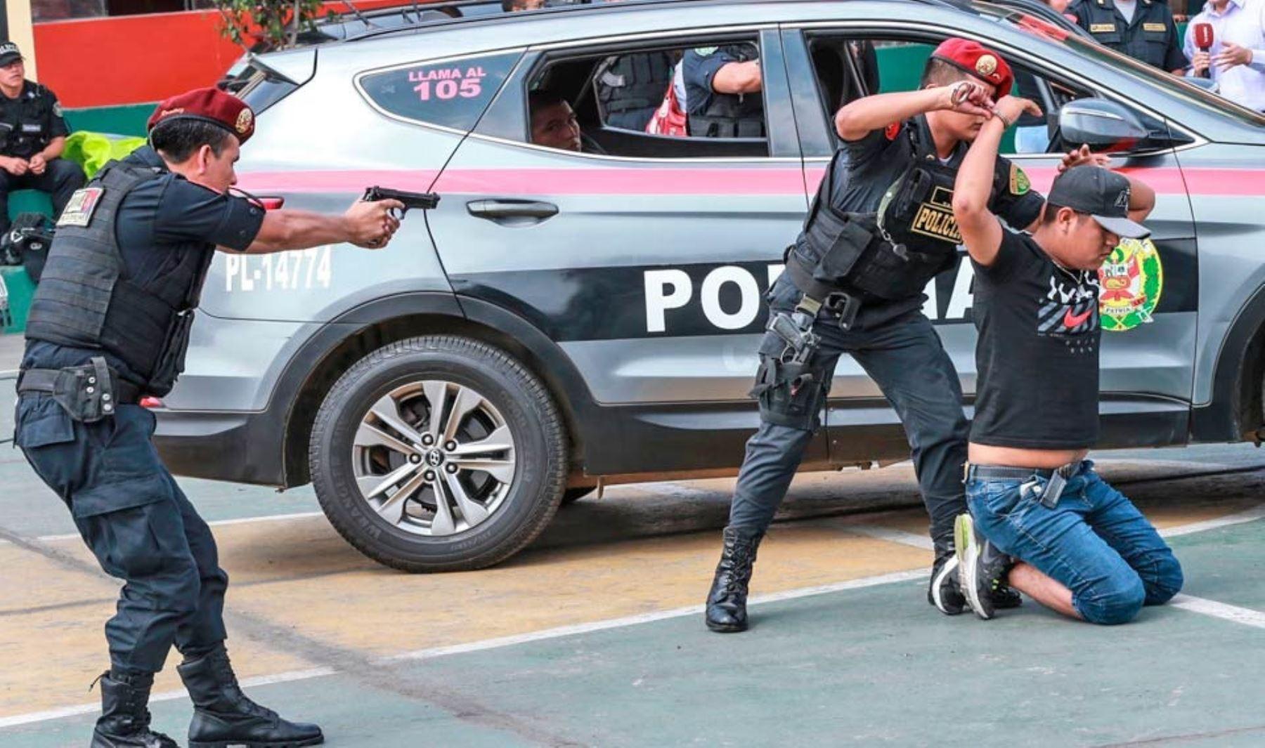 Gore Lima refuerza lucha contra la delincuencia para enfrentar la inseguridad ciudadana