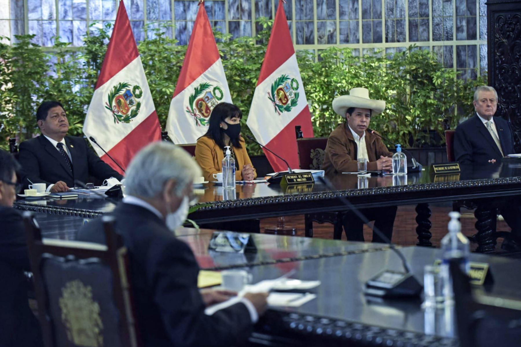 Presidente Castillo y Gabinete tomarán acuerdos para atender necesidades del país