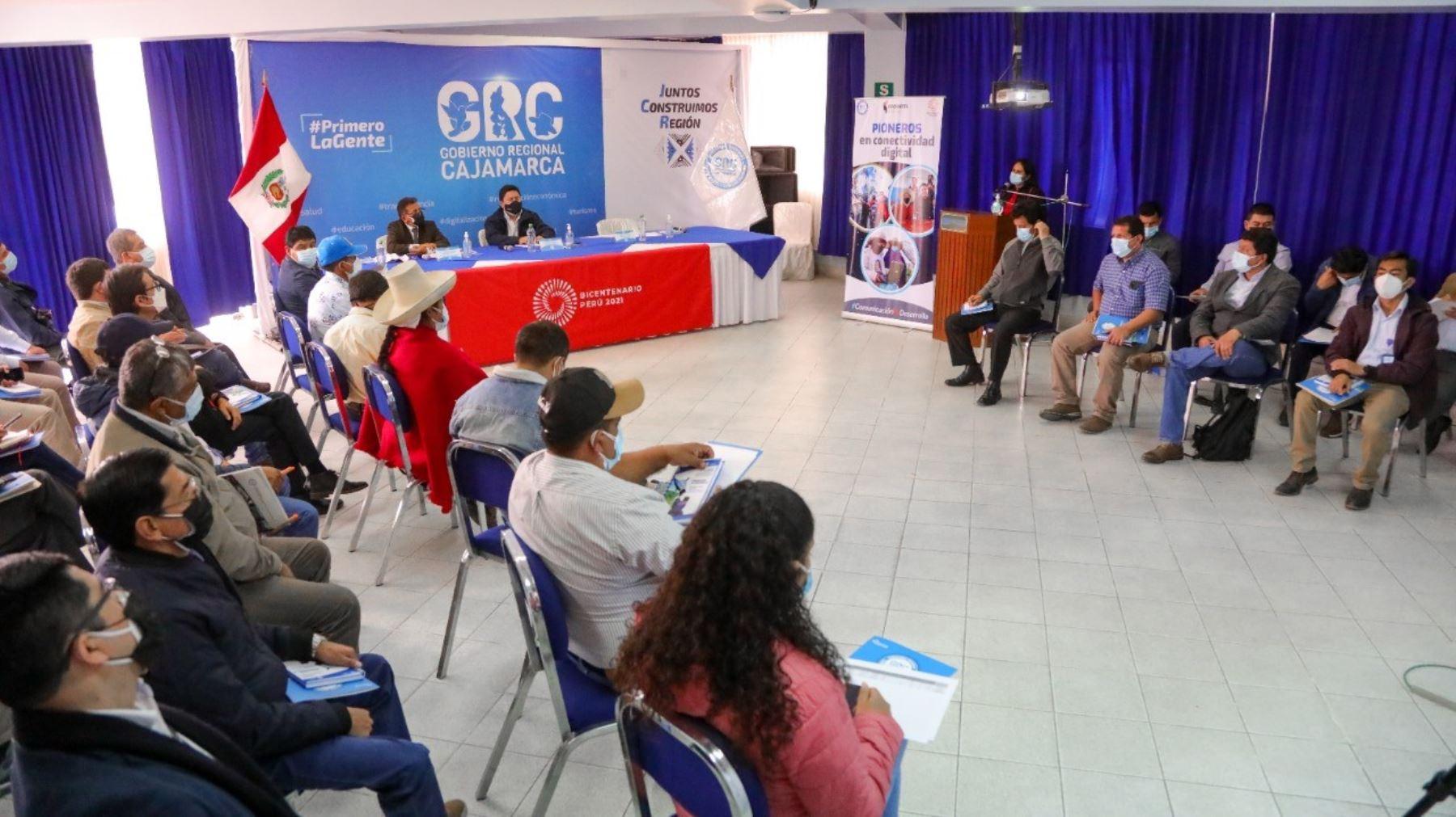 Cajamarca: Plan Todos Conectados acorta la brecha digital en más de 100 localidades