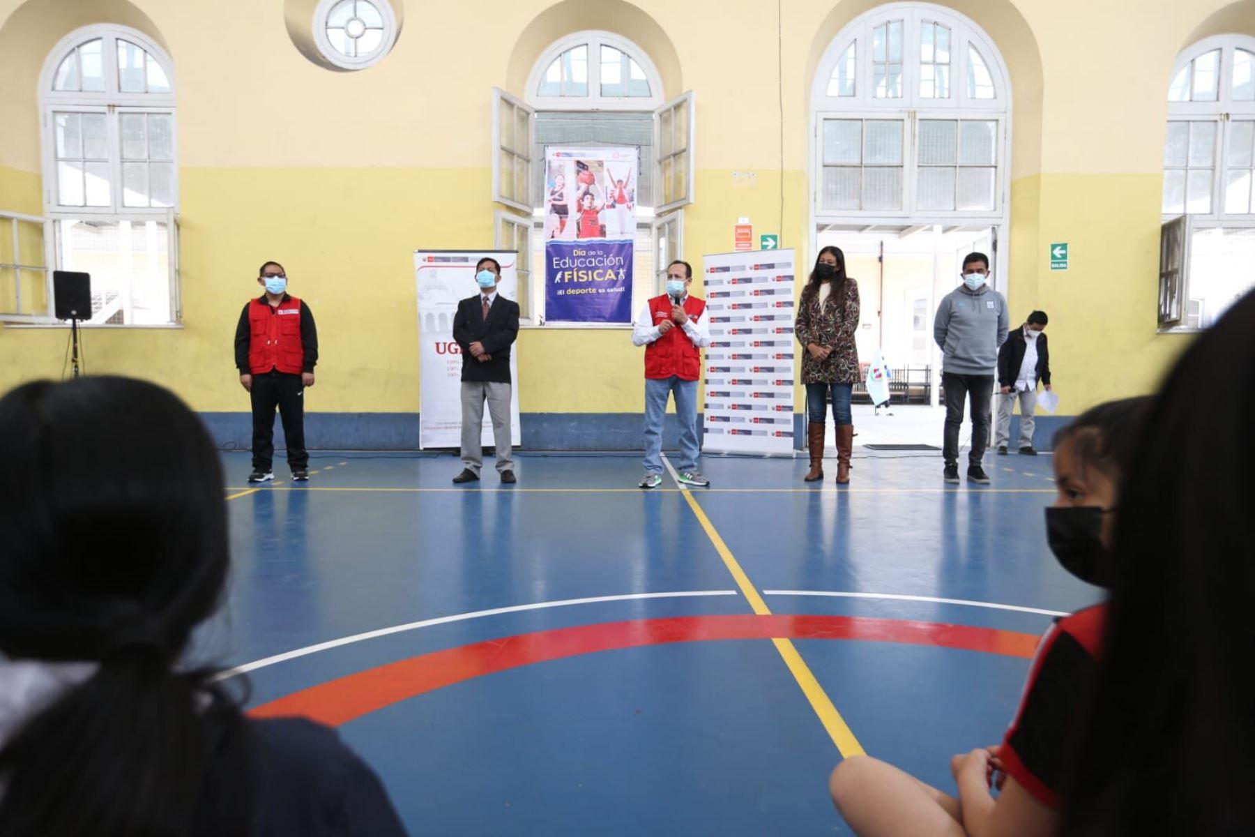 Minedu: 43 colegios de Lima Metropolitana abren sus puertas para actividades físicas