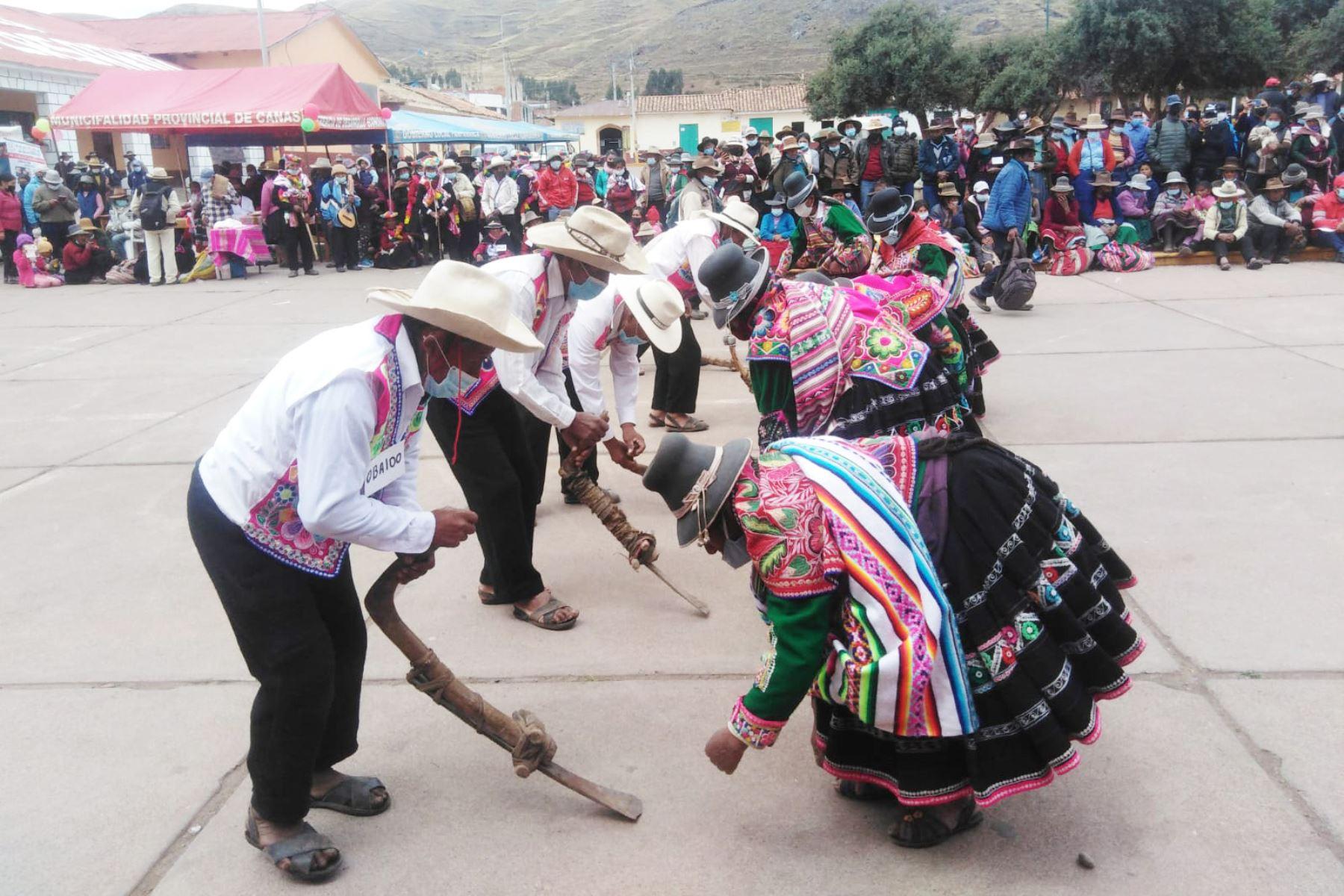 Pensión 65: usuarios participaron en VI Encuentro de Saberes Productivos de Canas
