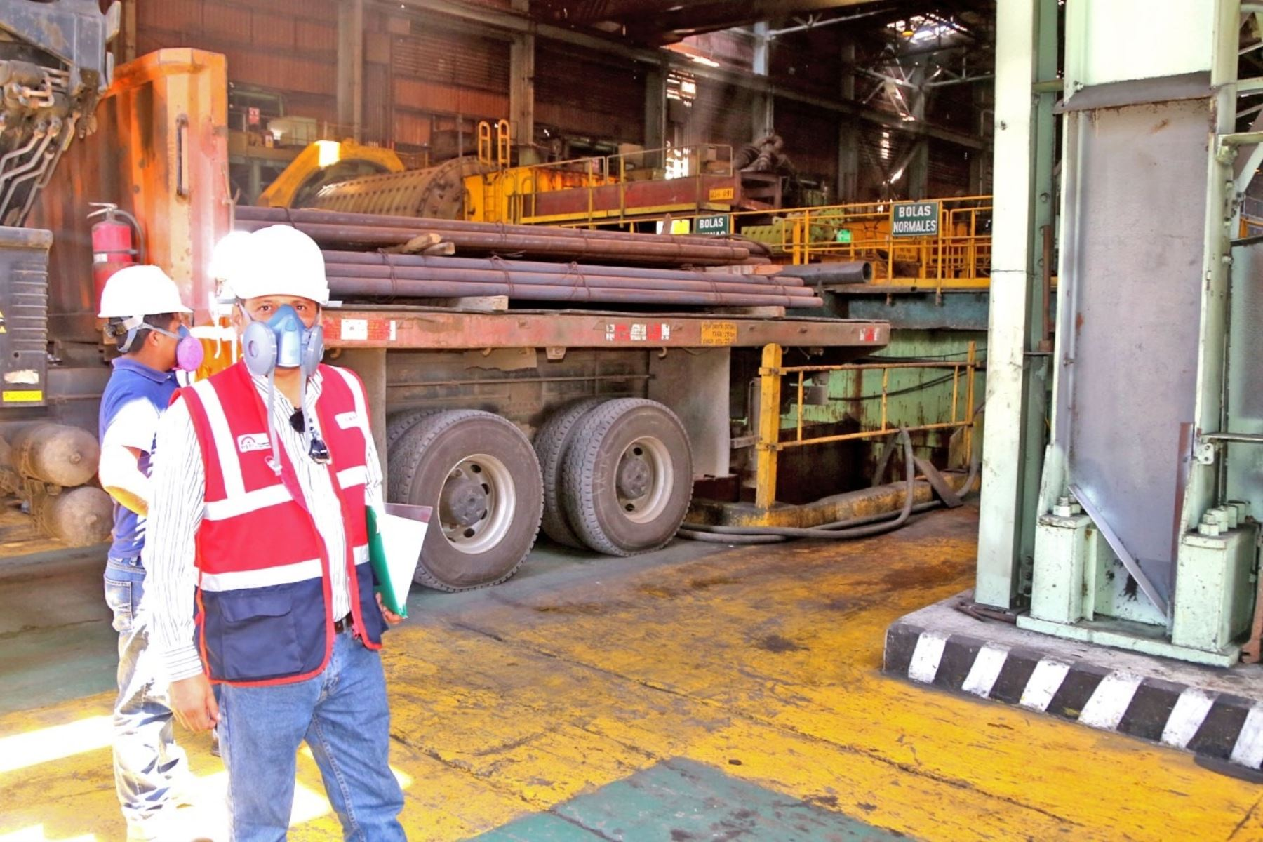 Sunafil constata que empresa Shougang internó ilegalmente a trabajadores