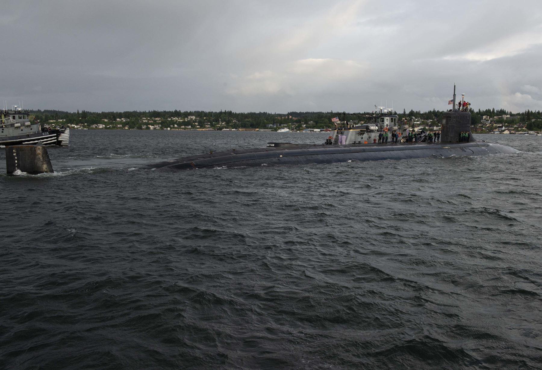 Submarino nuclear de EE. UU. sufre daño tras colisión en aguas de Asia
