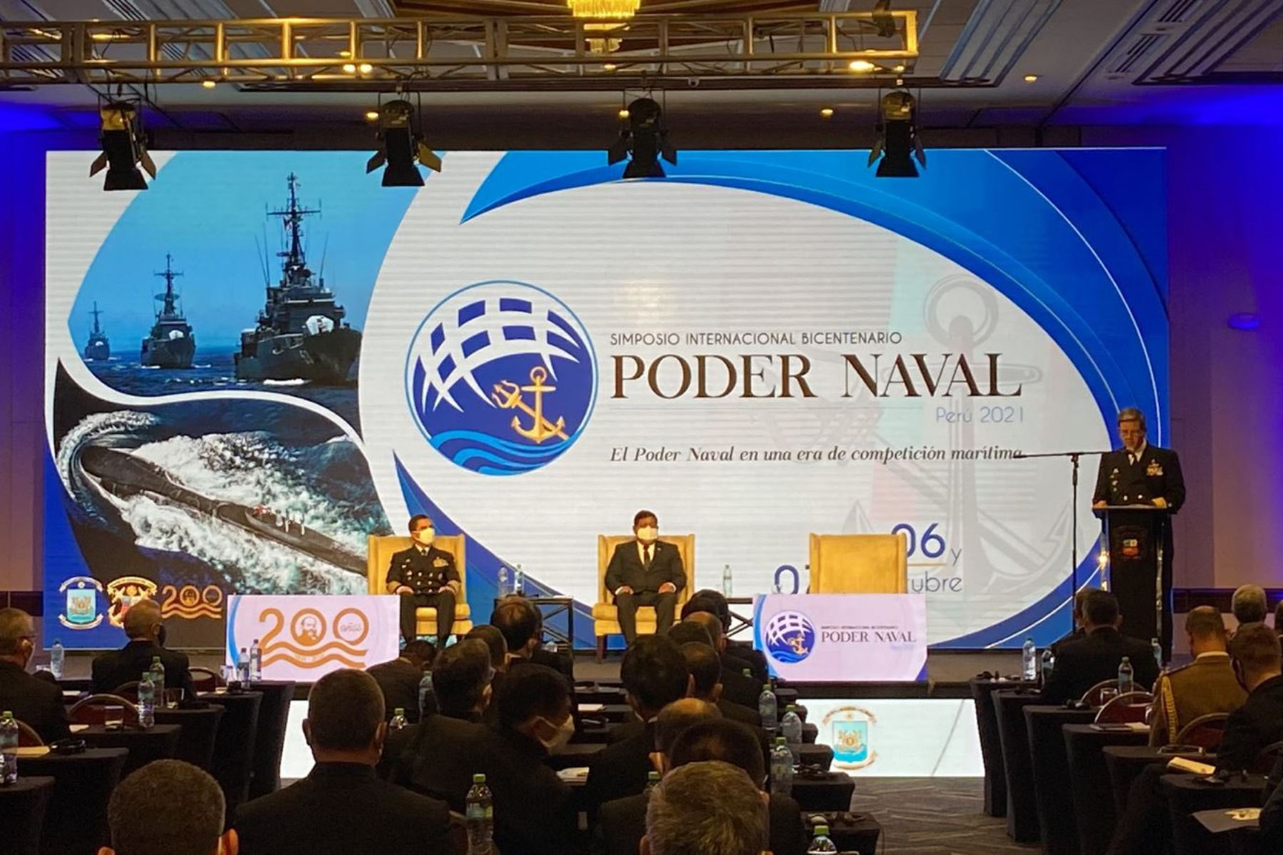 Ministro Ayala destaca que seguridad y defensa son pilares de la democracia