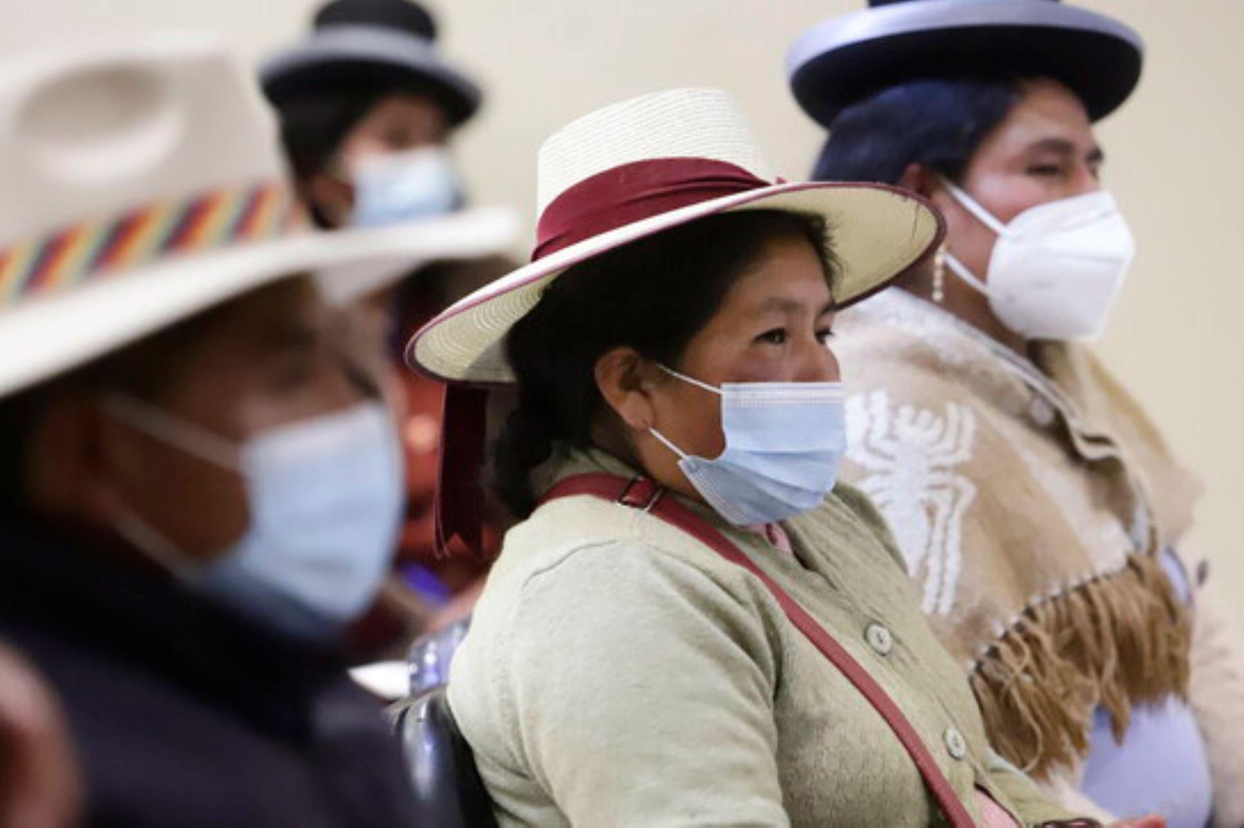 Covid-19: Cultura capacita a líderes originarios de Puno sobre la importancia de vacunarse