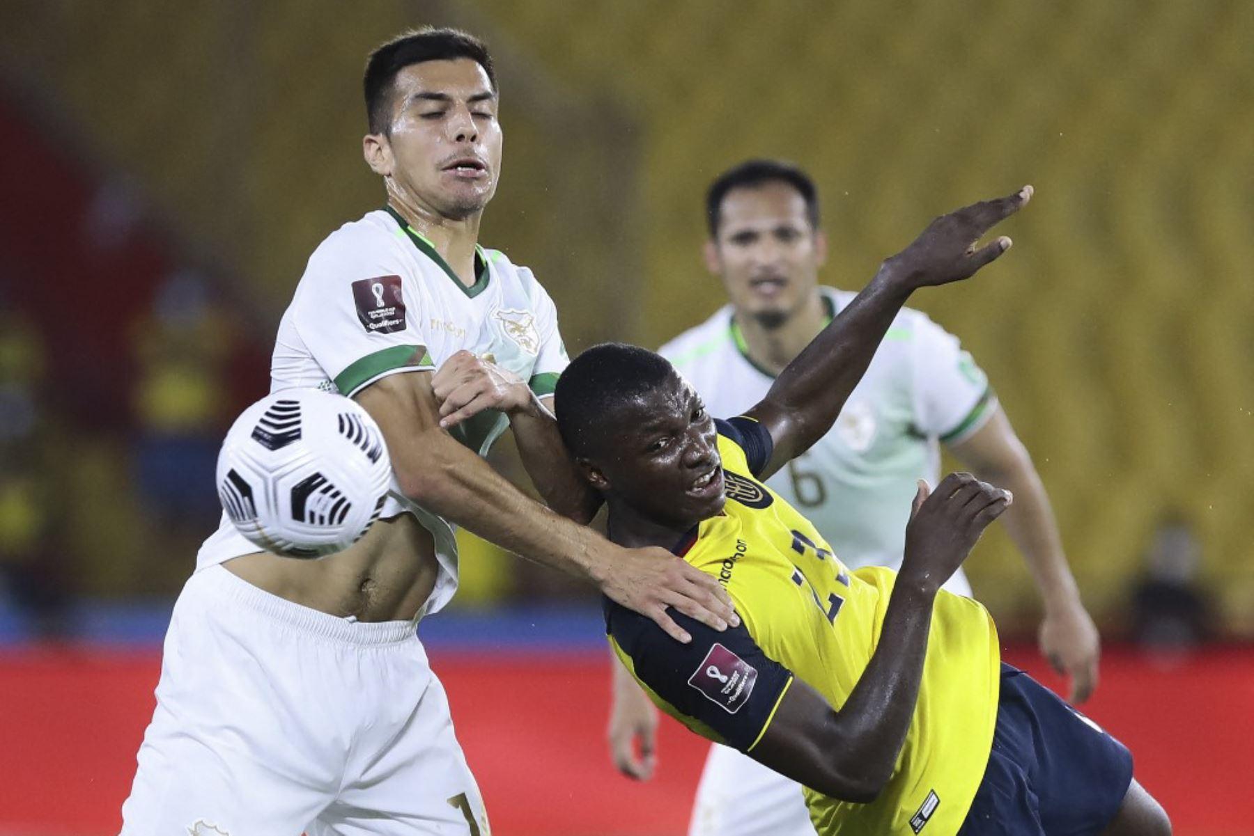 Ecuador venció 3-0 a Bolivia en Guayaquil por las clasificatorias a Qatar 2022  Galería Fotográfica   Agencia Peruana de Noticias Andina