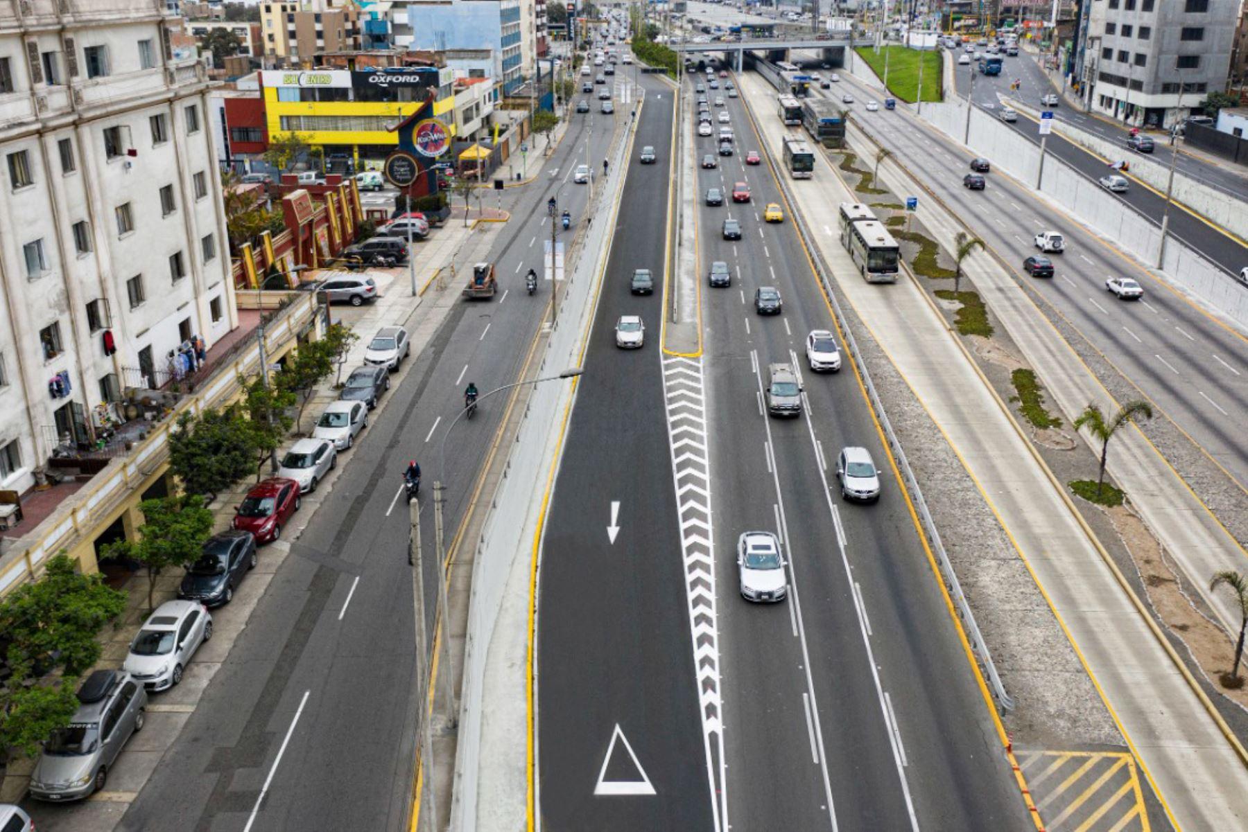 Concluyó mantenimiento de 40 entradas y salidas de Vía Expresa Paseo de la República