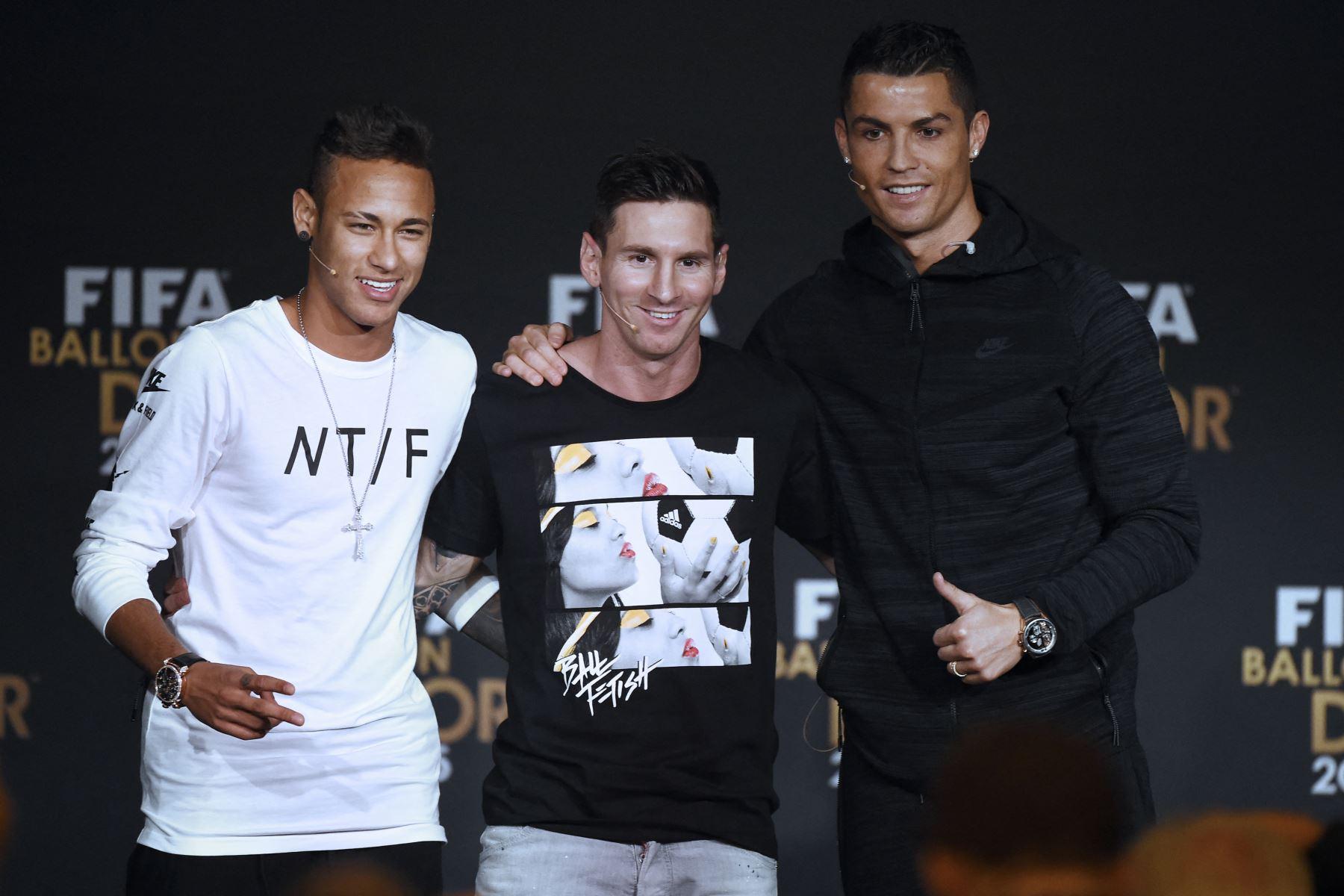 Messi, Mbappé, Neymar, Benzema, Jorginho y Ronaldo entre candidatos al Balón de Oro 2021