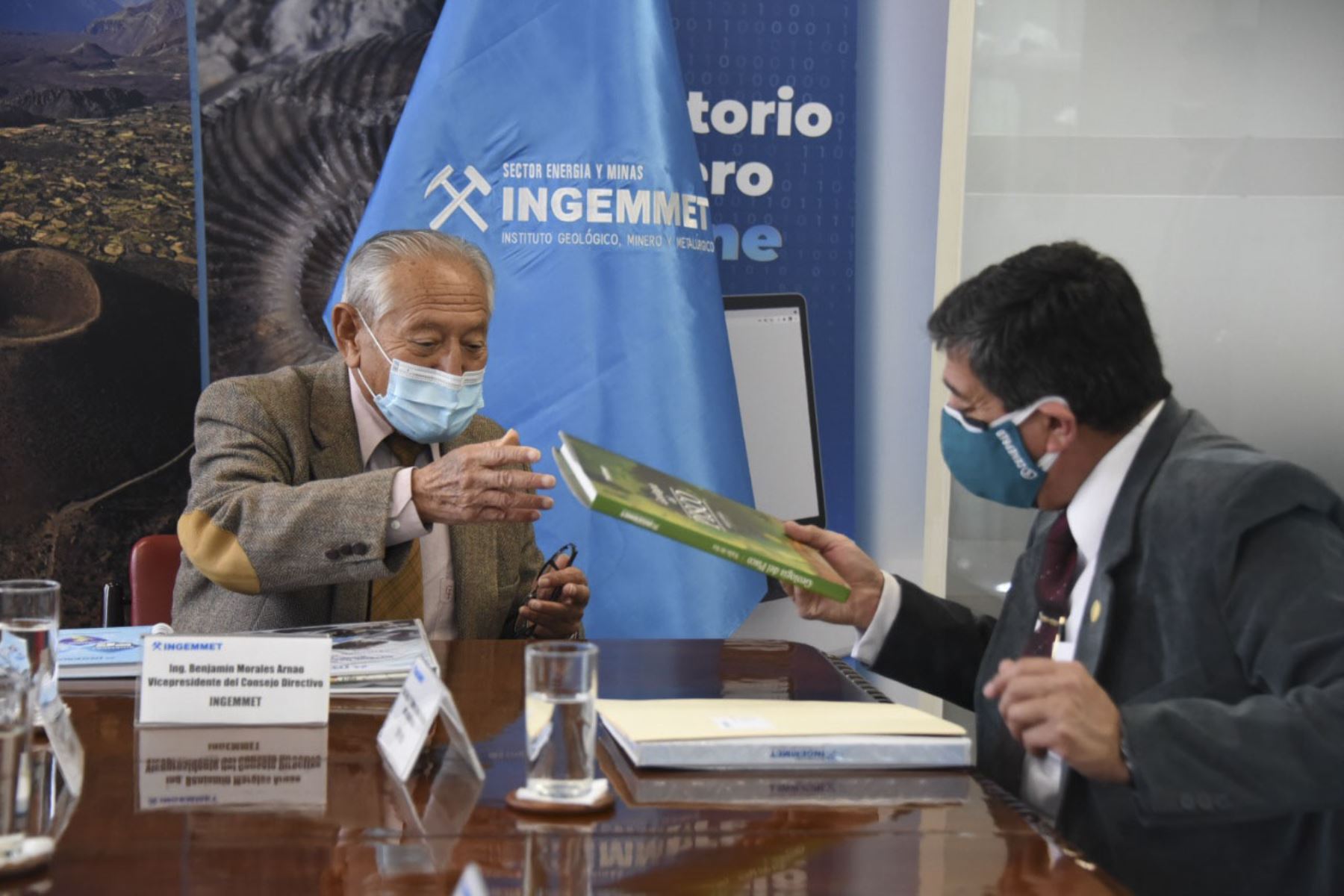 Ingemmet y Cenepred expresan compromiso de fortalecer gestión del riesgo de desastres