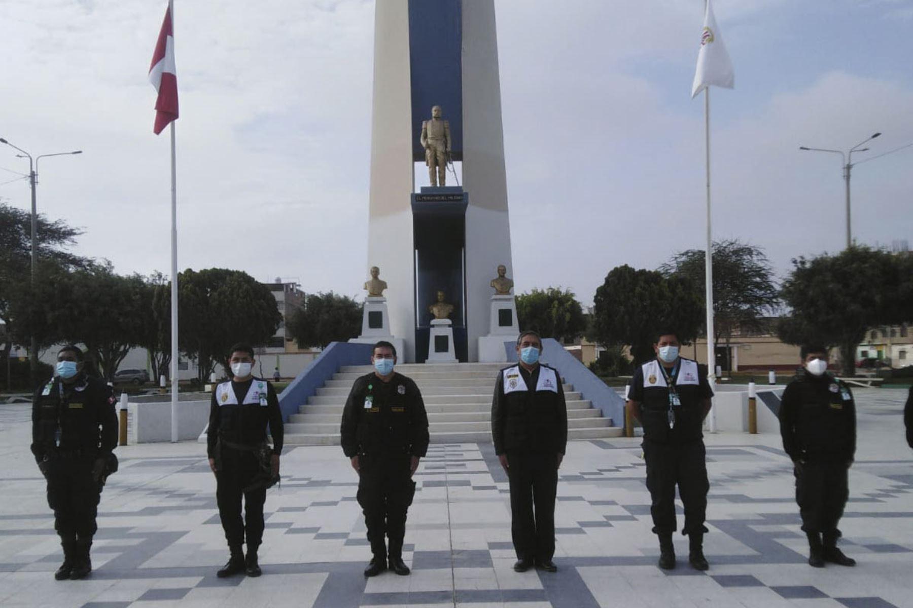 Chiclayo: municipalidad de La Victoria resalta valentía y coraje de Miguel Grau
