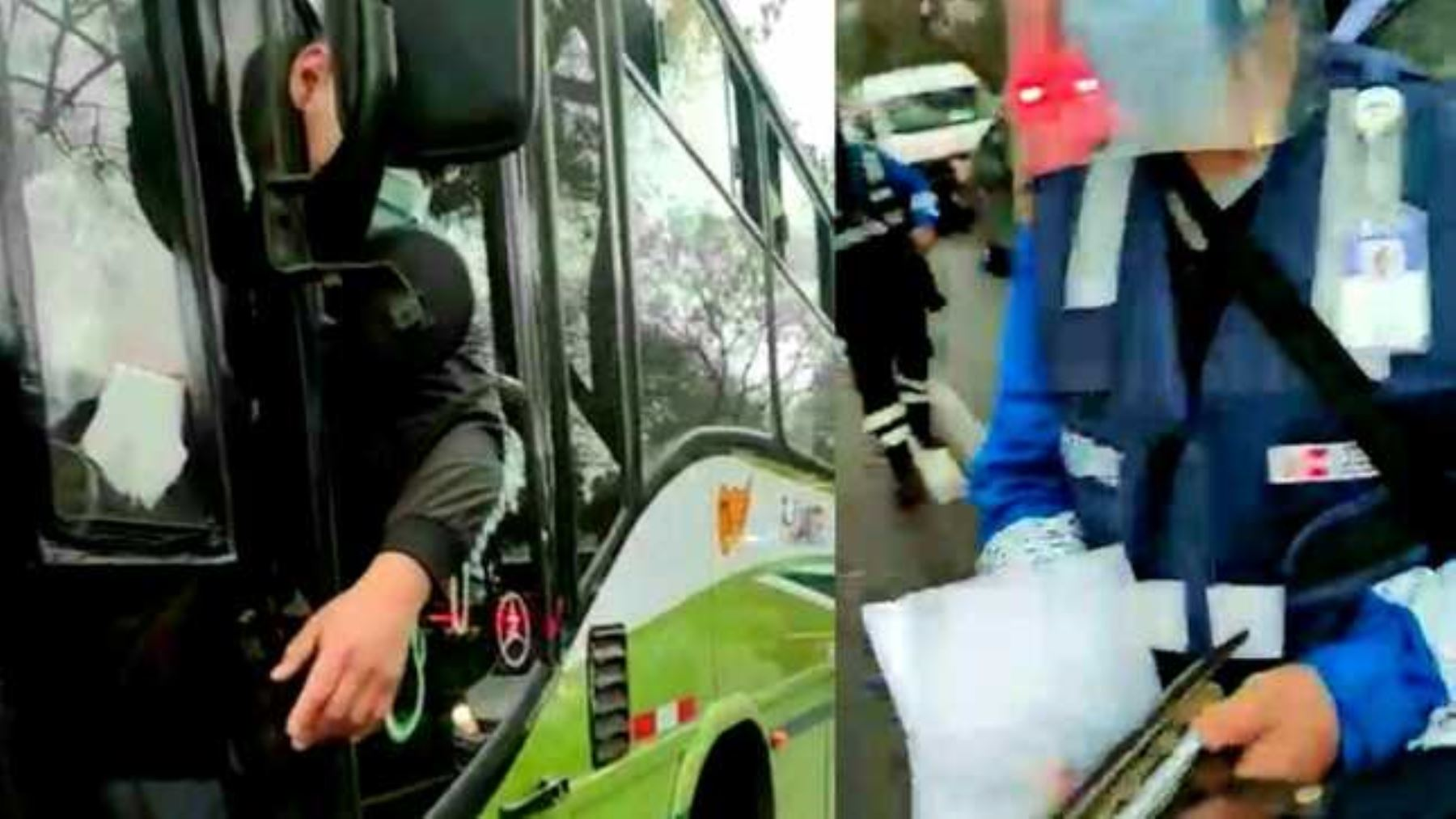 Dictan 3 años de pena suspendida para conductor que intentó sobornar a fiscalizador ATU