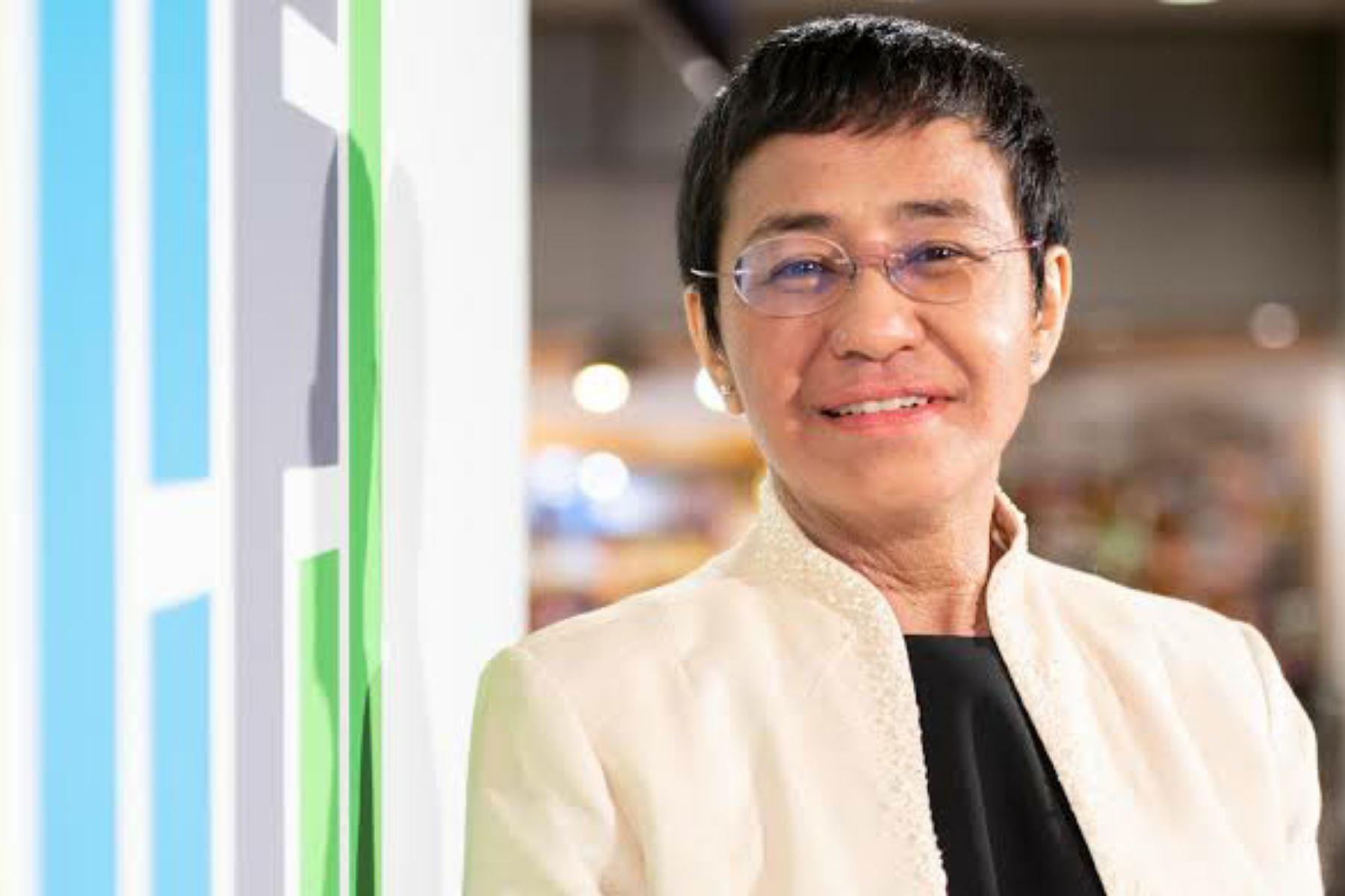 """Maria Ressa dedica su Nobel de la Paz a \""""todos los periodistas del mundo\"""""""