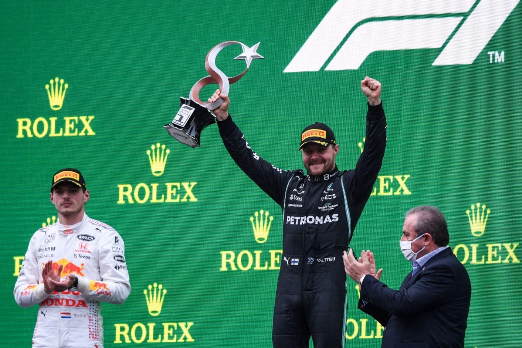 Bottas gana GP de Turquía de F1, Verstappen recupera liderato del Mundial