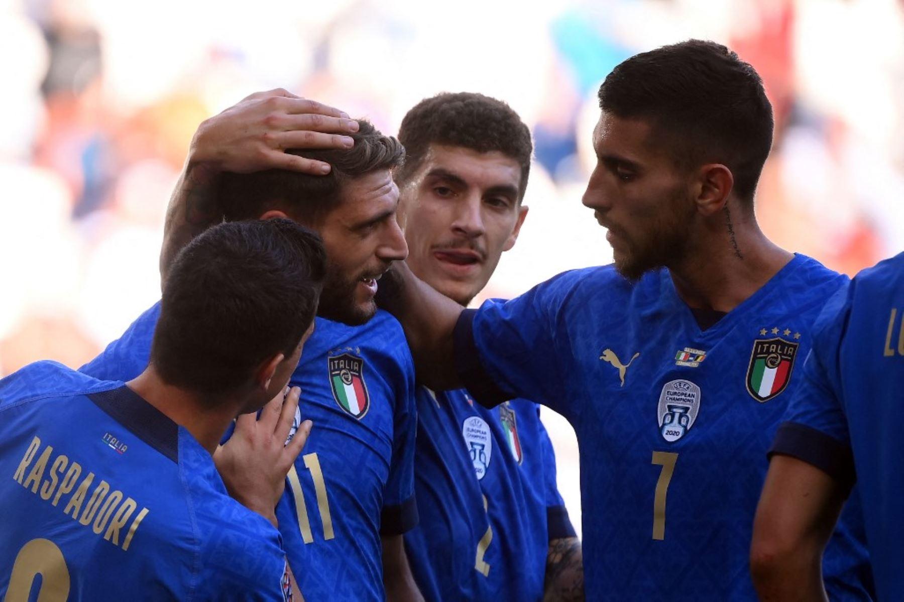Italia gana 2-1 a Bélgica y logra la tercera plaza de la Liga de Naciones