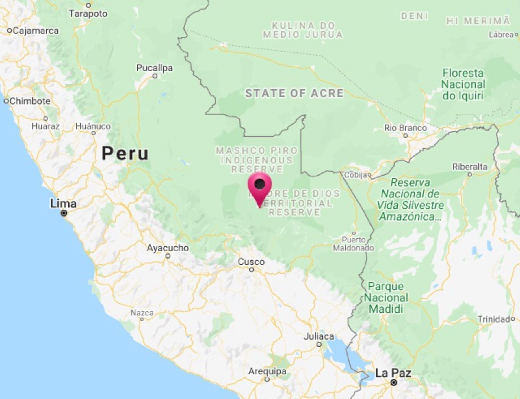 Cusco: un nuevo sismo de magnitud 4.5 se registra hoy a la provincia de Paucartambo