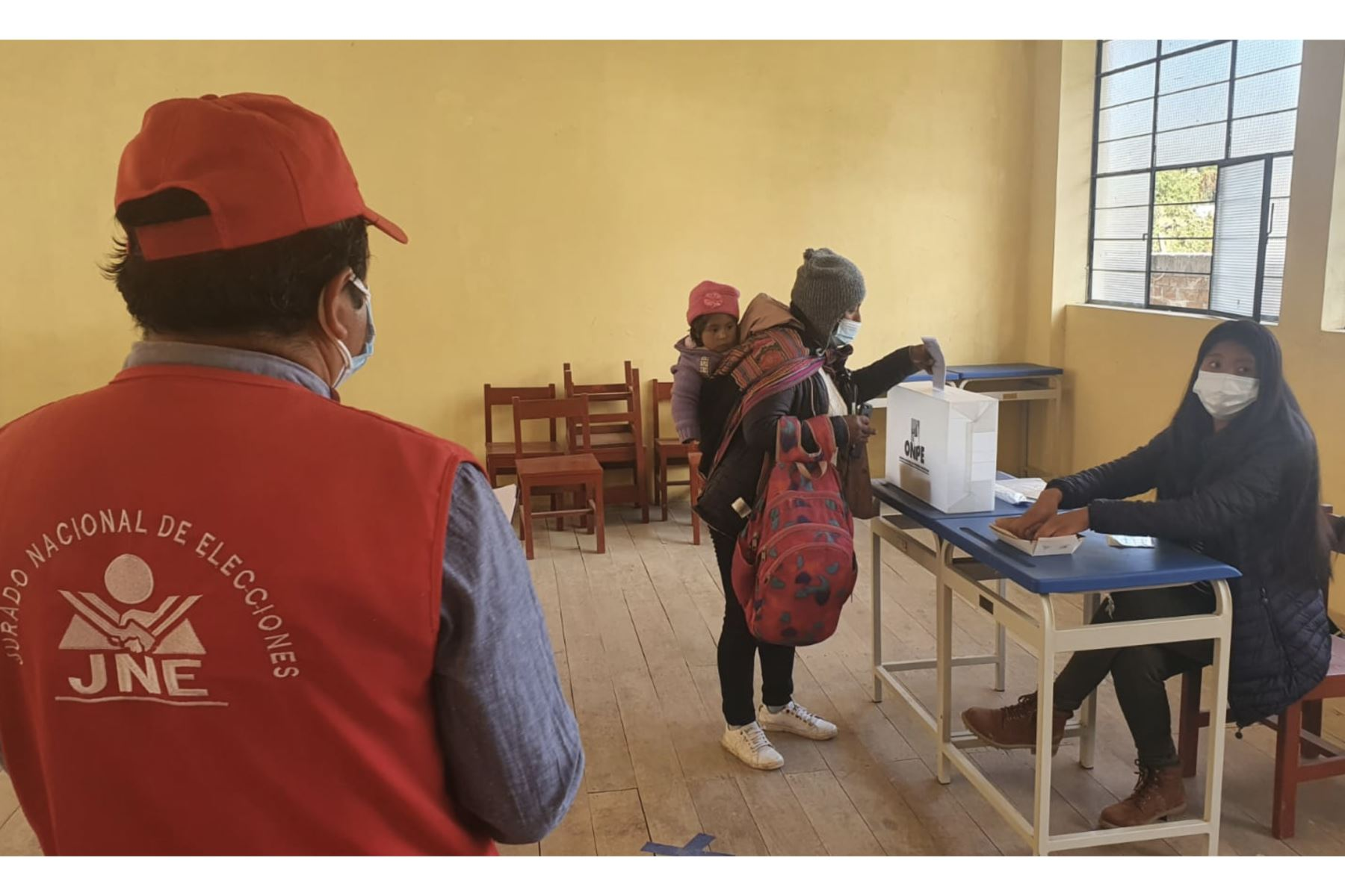 JNE: no se han suscitado hechos de violencia en revocatoria y elecciones en Chipao