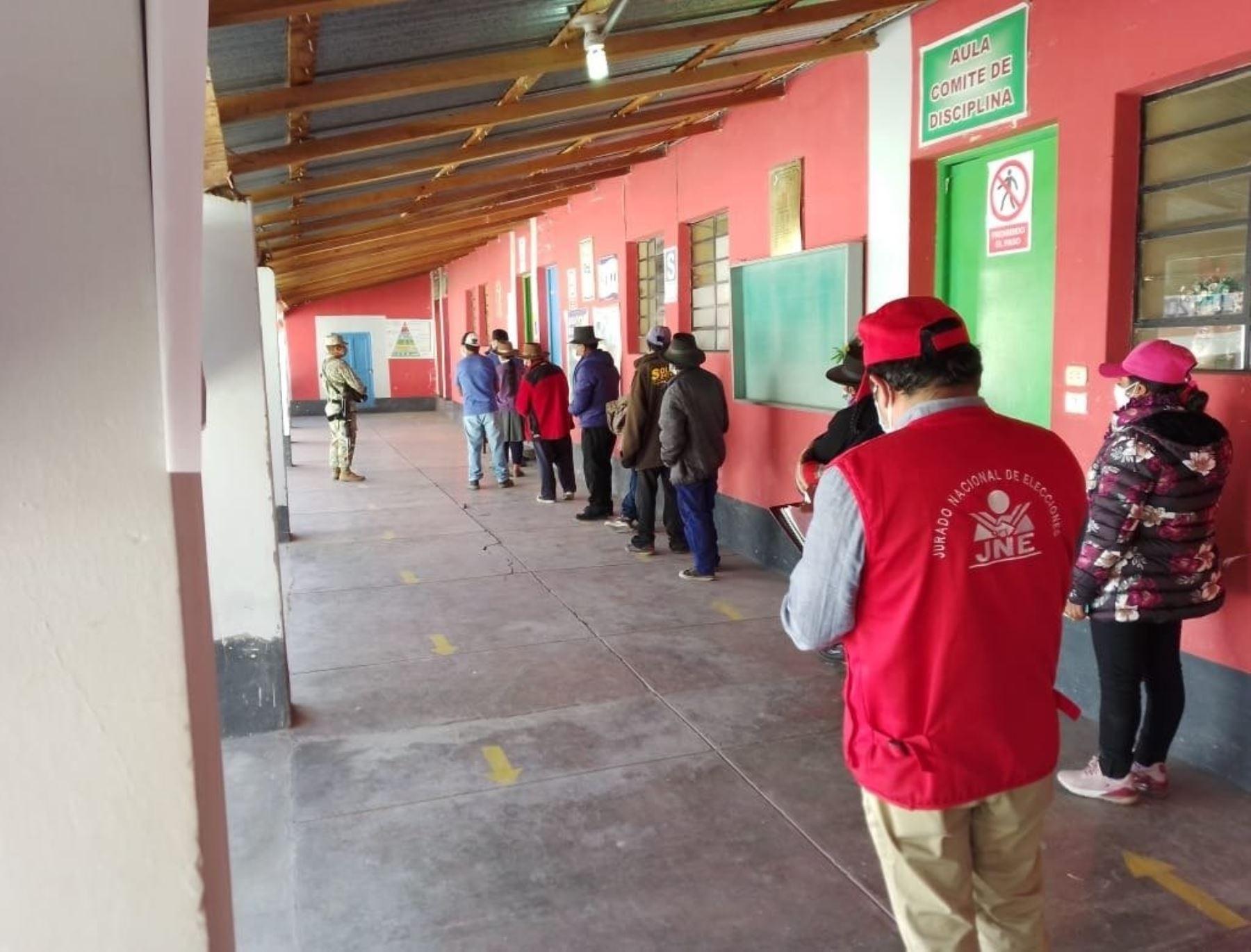 ONPE: se instalaron todas las mesas para la revocatoria y elecciones complementarias