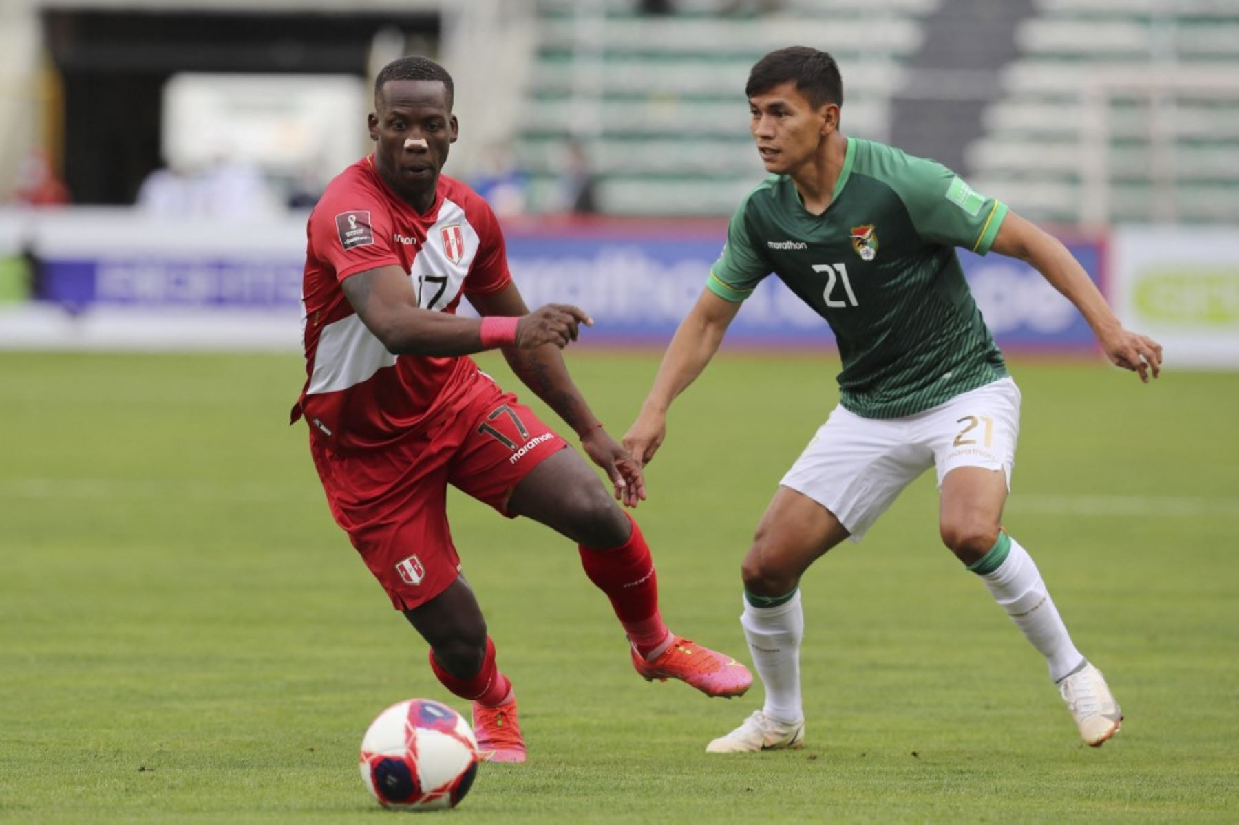 Segundo tiempo: Bolivia derrota 1-0 a Bolivia en La Paz