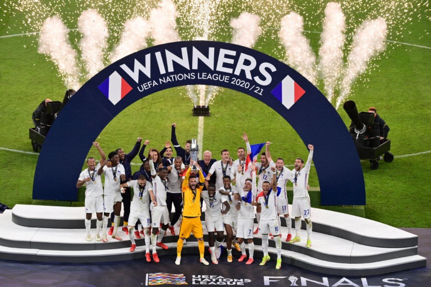 Francia derrota 2-1 a España y se corona campeón de la Liga de Naciones