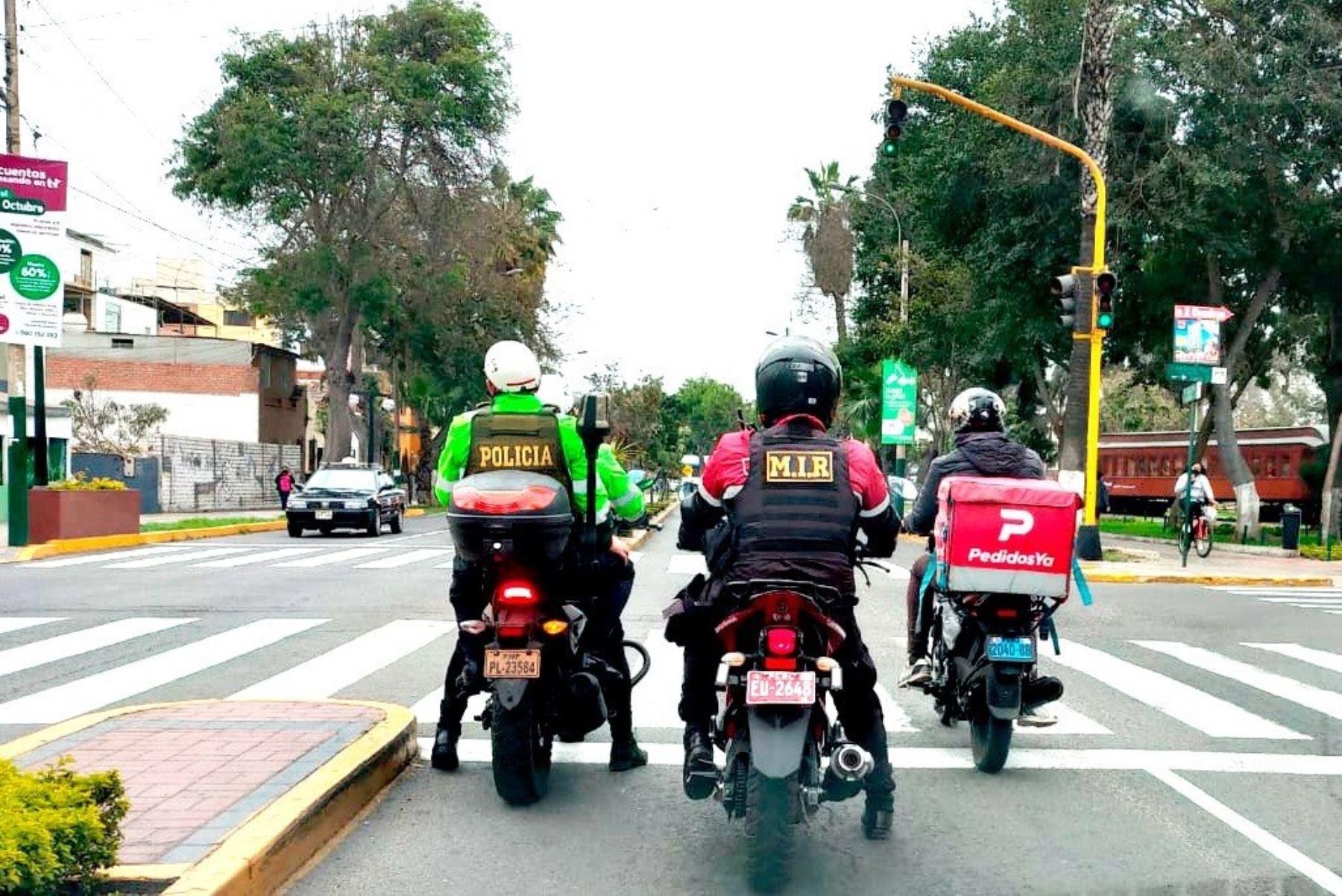 Pueblo Libre: proponen identificar con código QR a repartidores de delivery
