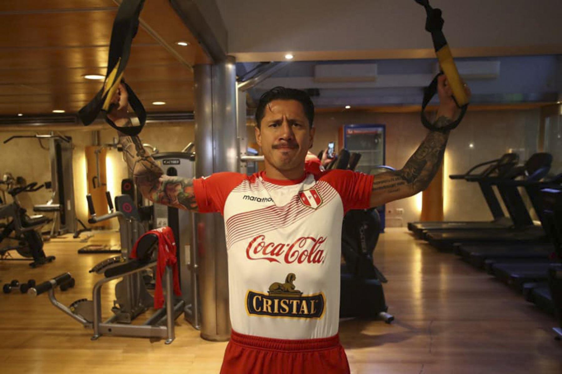 La selección peruana ya se encuentra en Buenos Aires preparándose para el próximo encuentro de este jueves ante Argentina en el estadio Monumental de River Plate. Foto: FPF