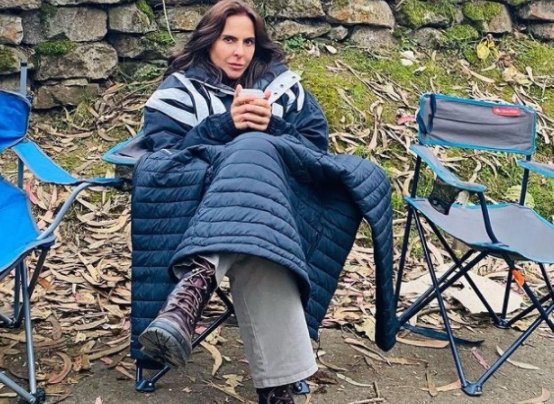 """Kate del Castillo: """"Trabajar en Machu Picchu es una experiencia increíble"""""""