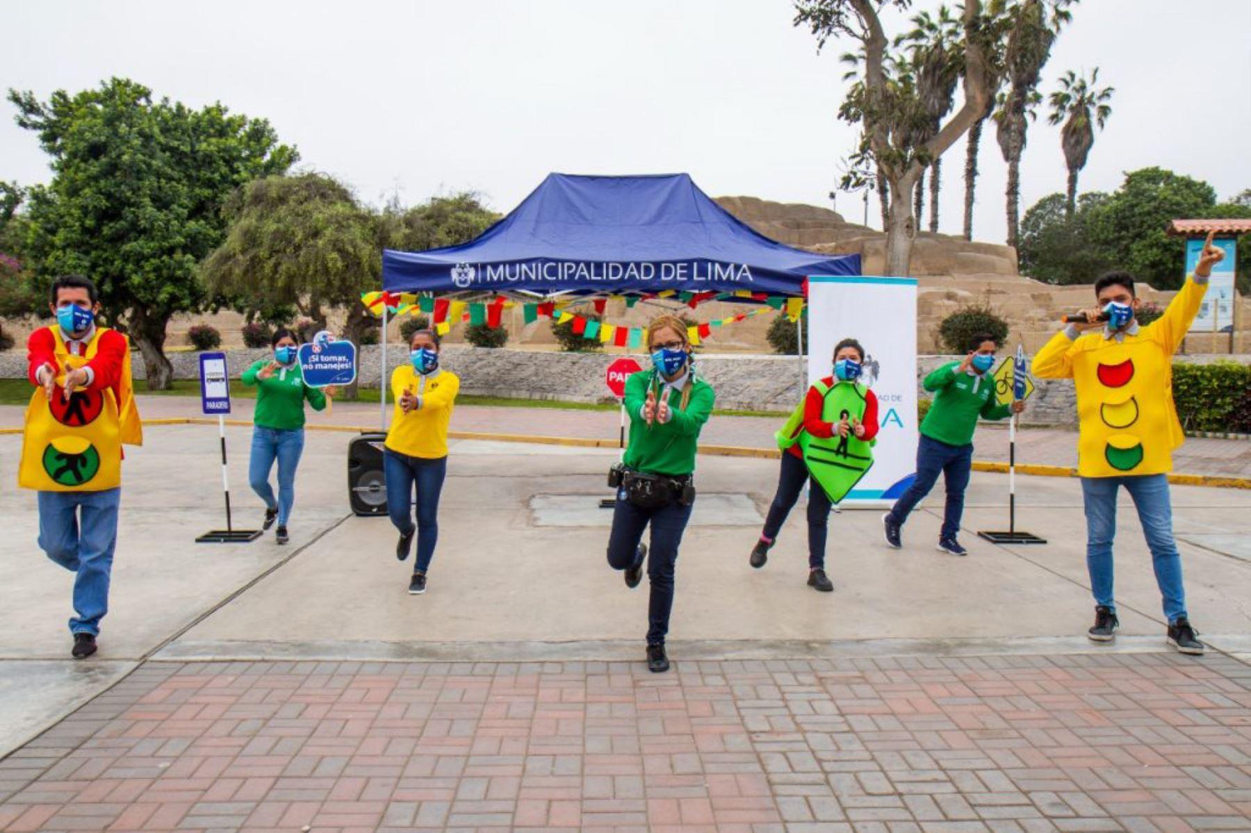 MML organiza actividades educativas y juegos en espacios abiertos para toda la familia