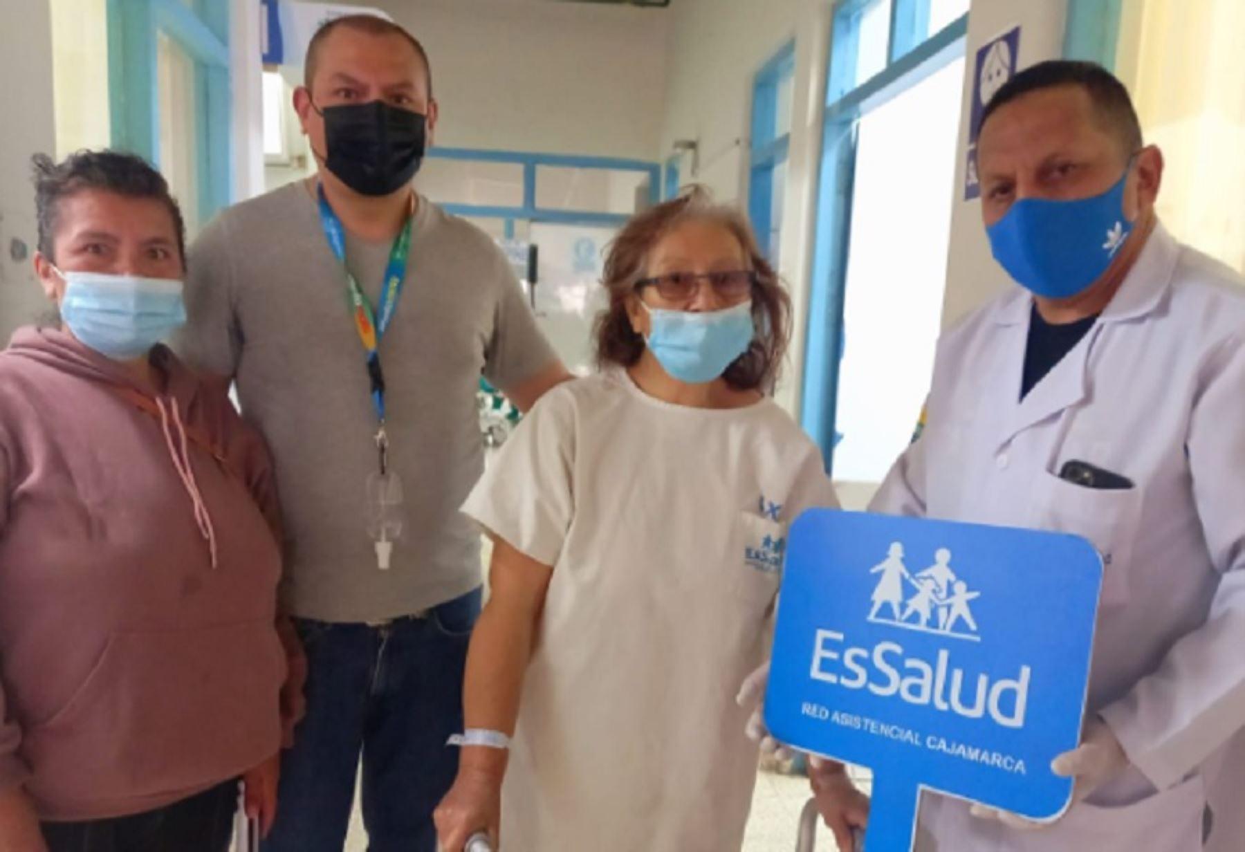 Cajamarca: abuela de 12 nietos volverá a caminar gracias a prótesis de última generación