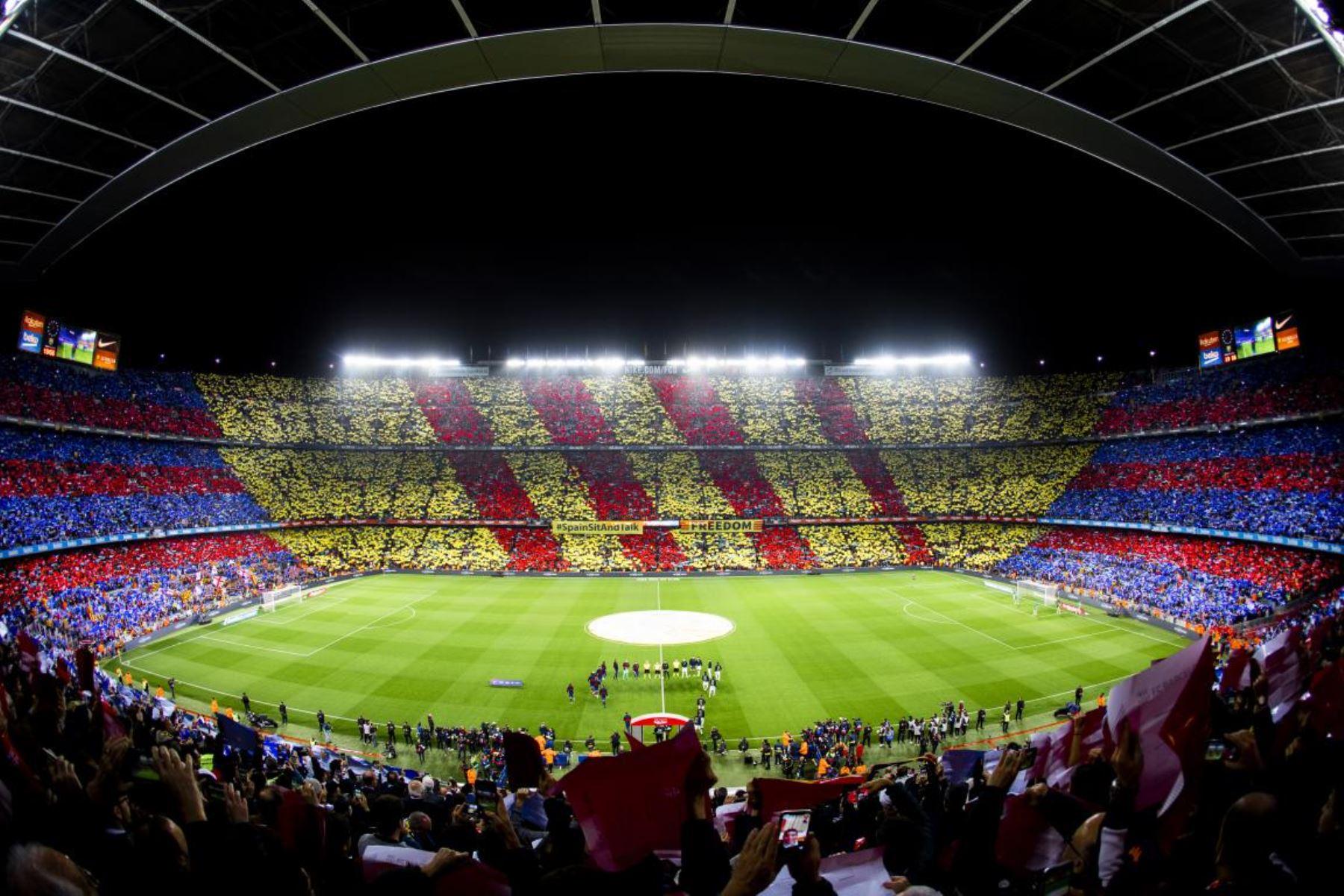Barcelona se prepara para abrir el 100% el Camp Nou ante el Valencia