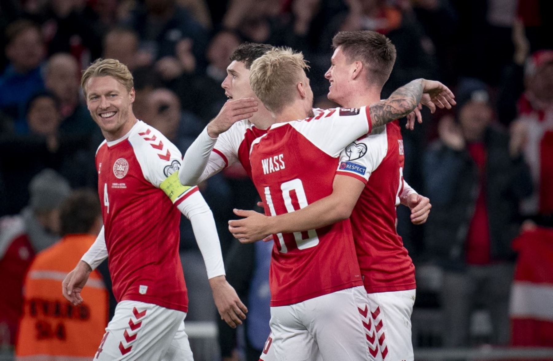 Dinamarca se clasifica para el Mundial de Catar-2022