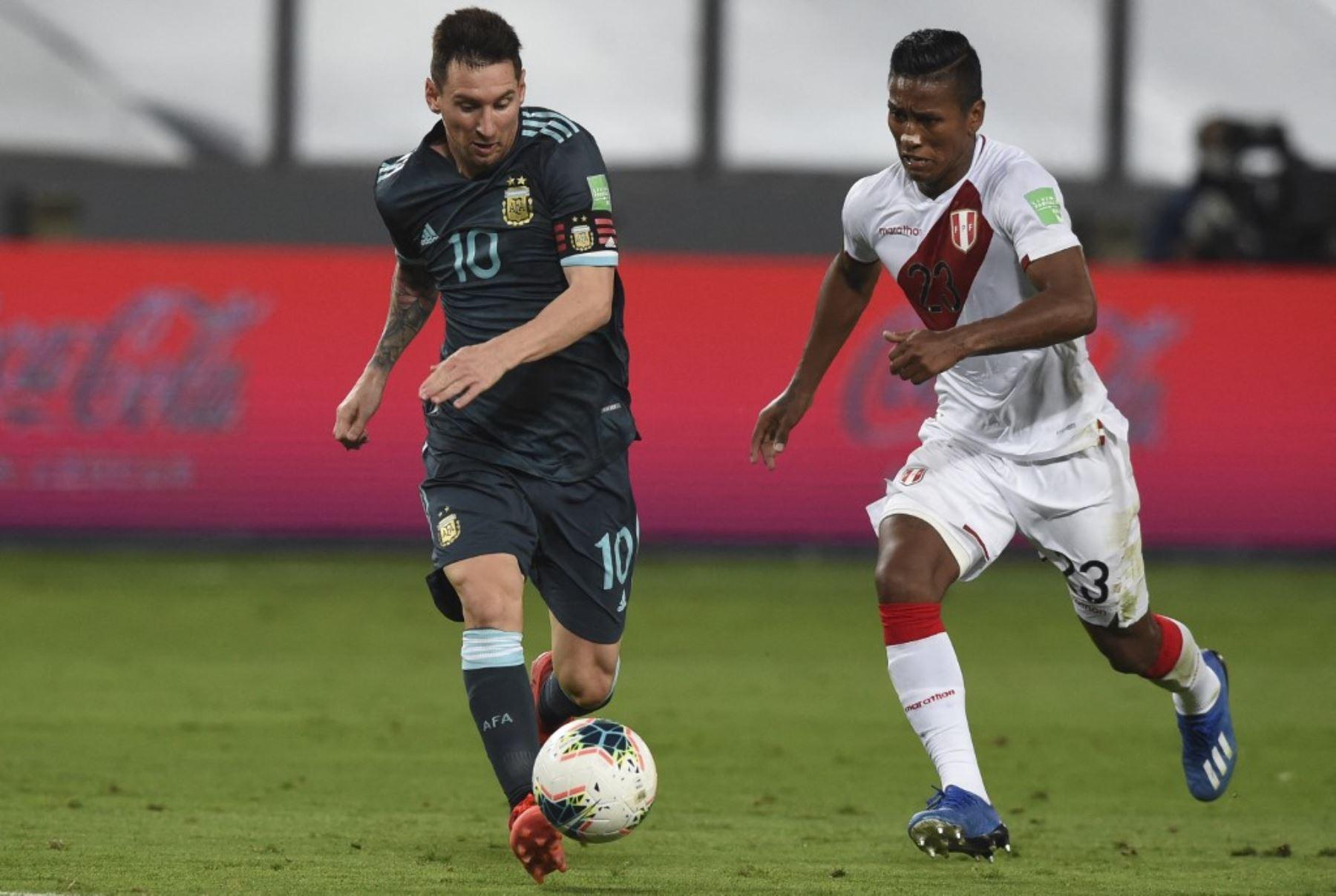 La selección peruana tiene una prueba dura ante la selección de Argentina