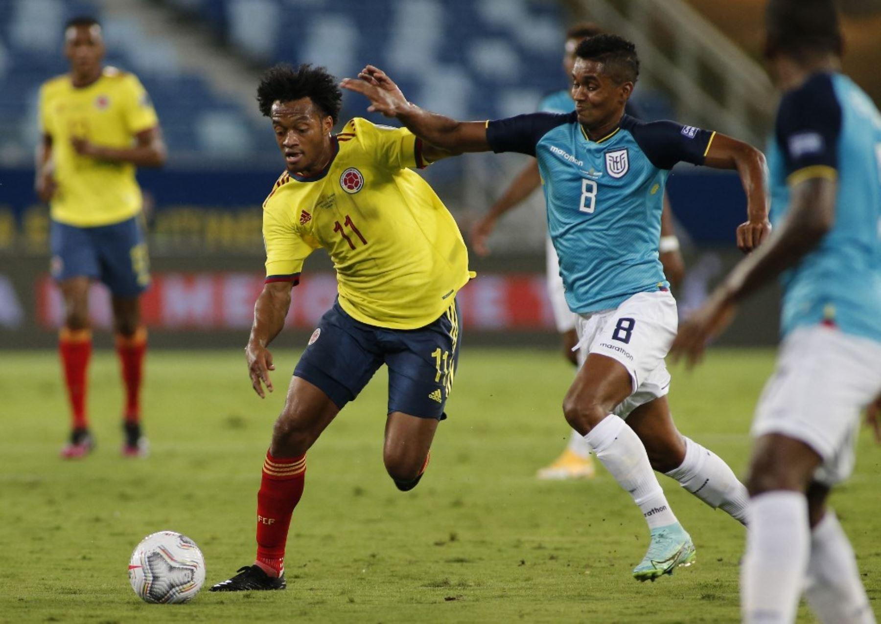 """Eliminatorias: Cuadrado ve el partido contra Ecuador como \""""una final\"""" para Colombia"""