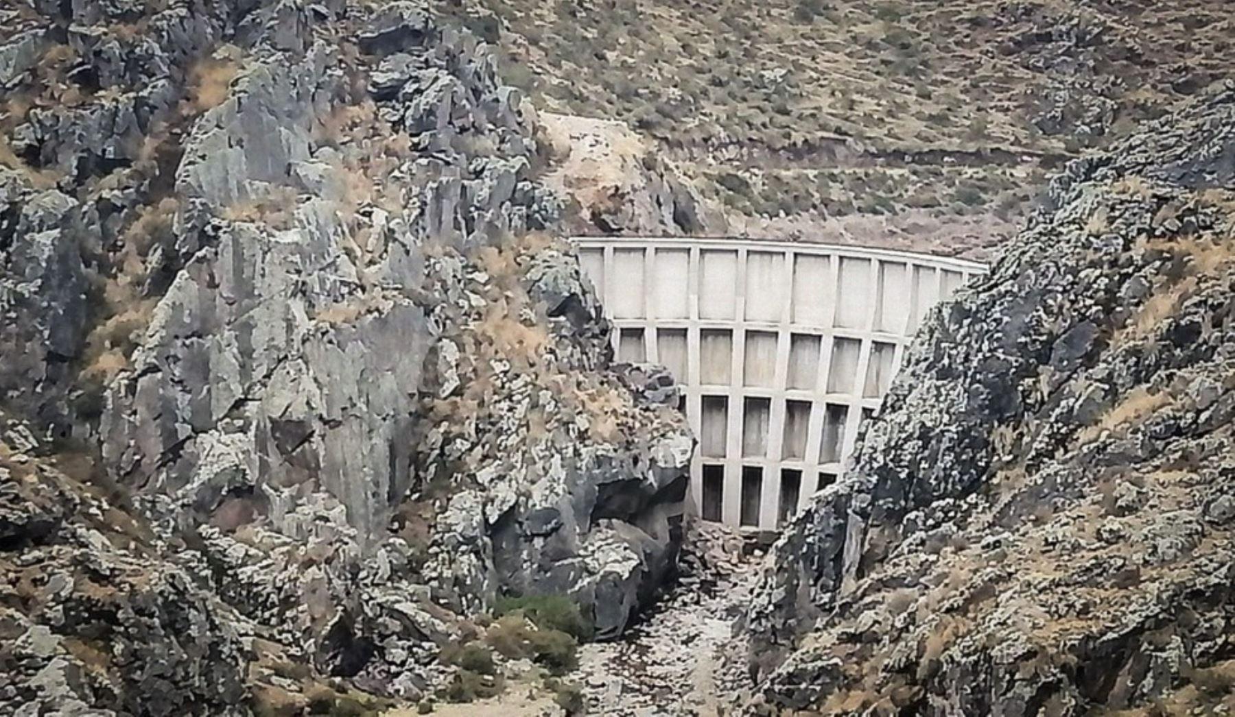 Región Lima: entregan represa de Potaga en distrito de San Pedro de Casta