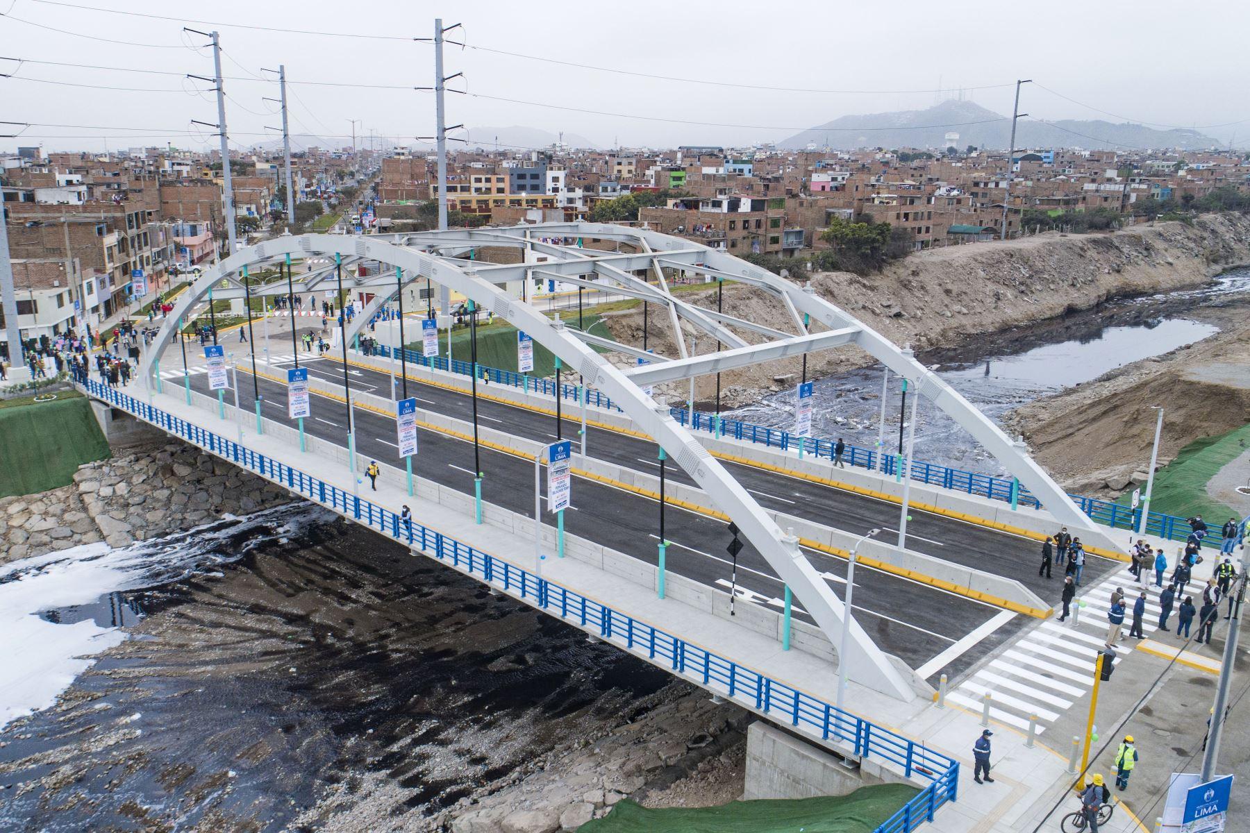 ¡Buena noticia! Inauguran puente vehicular sobre el río Rímac que une Lima y Callao