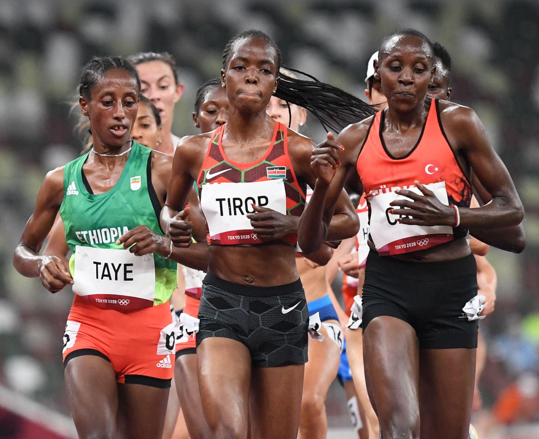 La atleta keniana Agnes Tirop, apuñalada a muerte en su país
