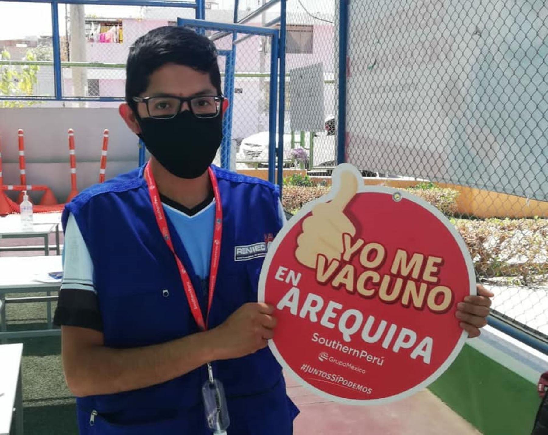 Buenas noticias en Arequipa: el 53 % de mayores de 18 años recibió las dos dosis de vacuna