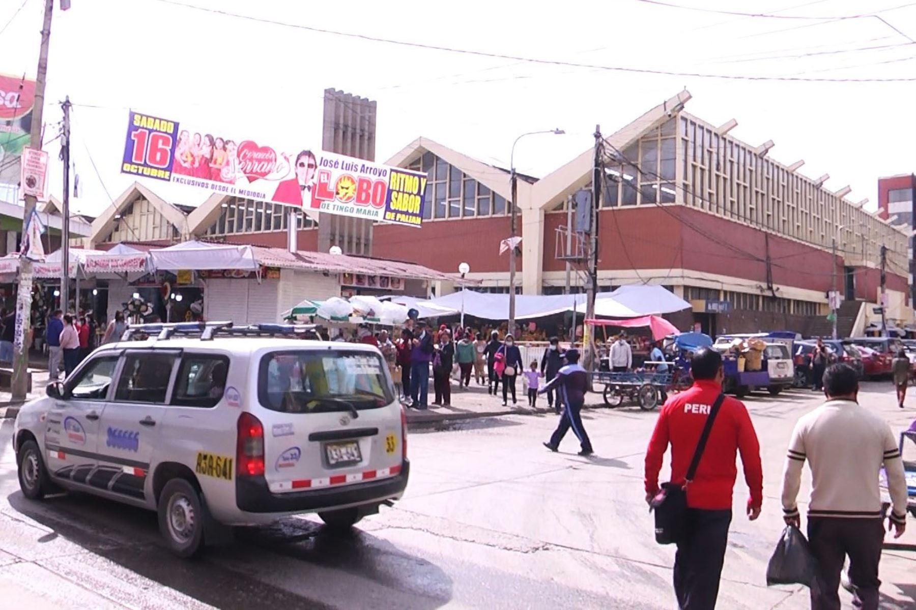 Huancayo: clausuran Mercado Modelo para mejorar protocolos de bioseguridad