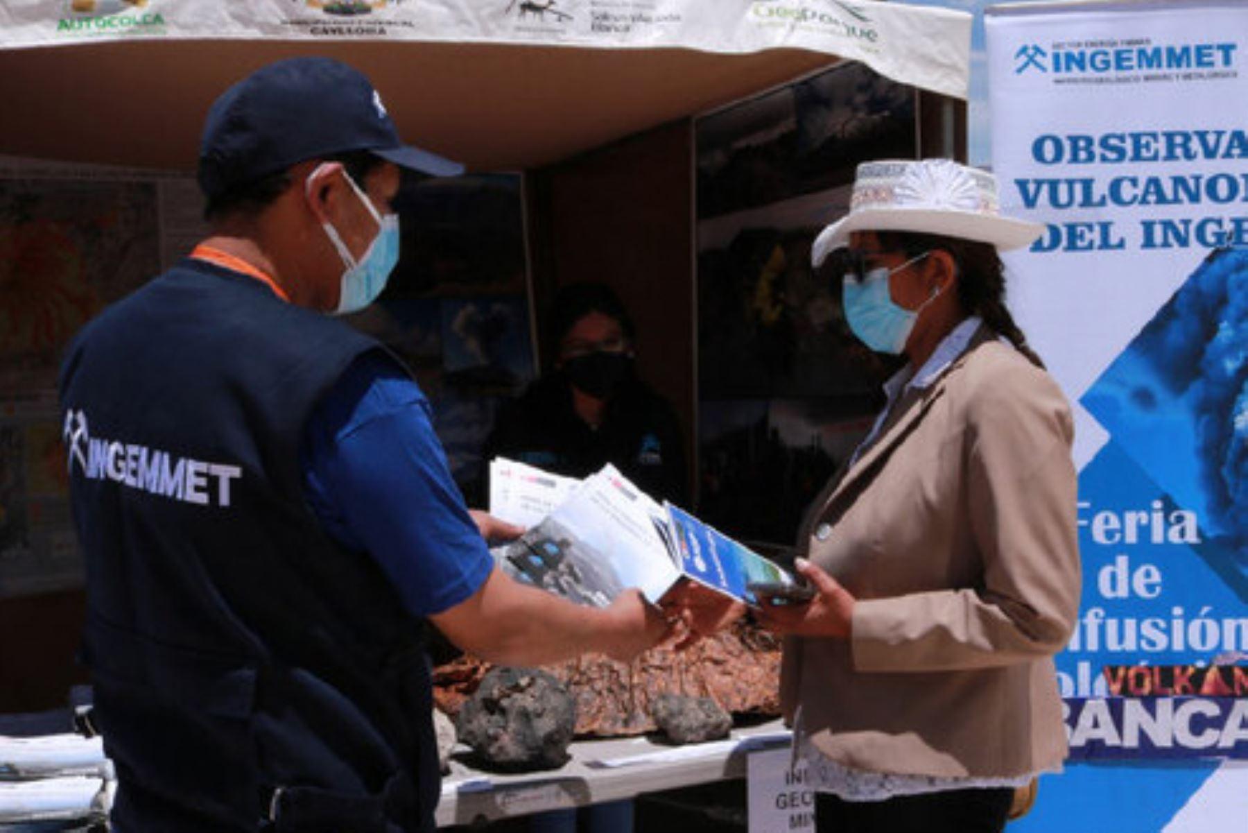 Arequipa: pobladores recibieron información sobre peligros geológicos