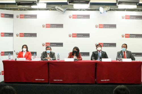 Conferencia de prensa del Consejo de Ministros