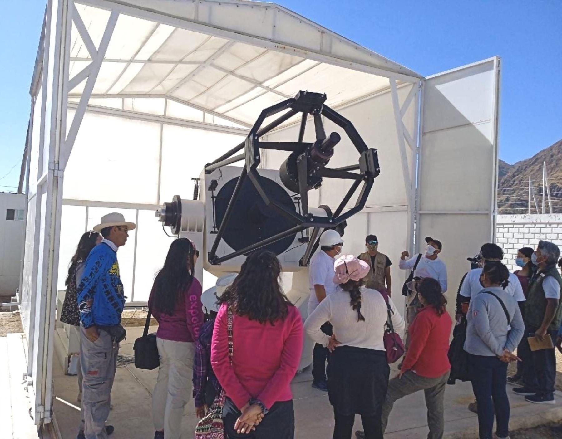 Moquegua busca posicionar a su observatorio astronómico como potencial destino turístico