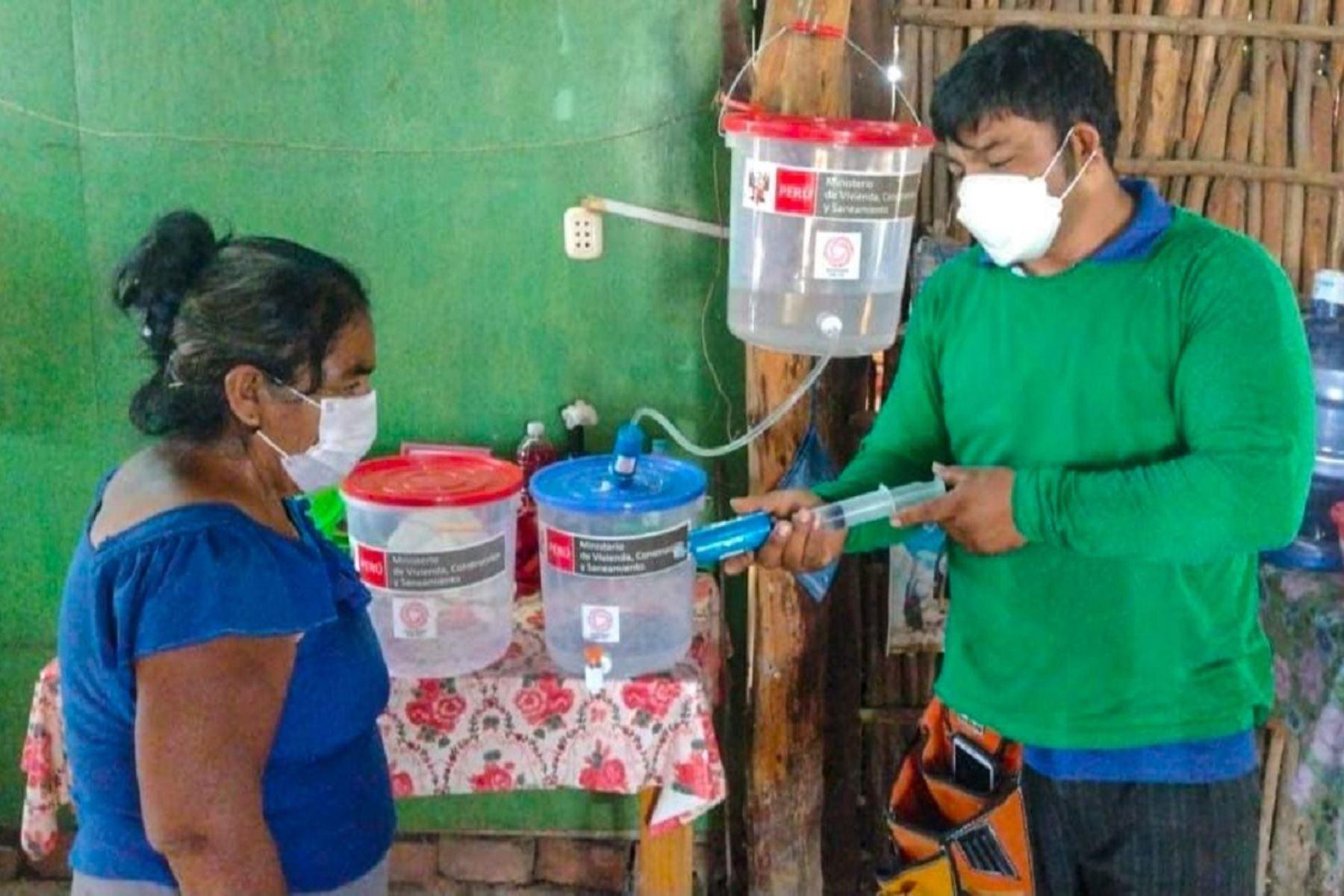 Instalan 2,600 filtros para mejorar calidad del agua en localidades rurales