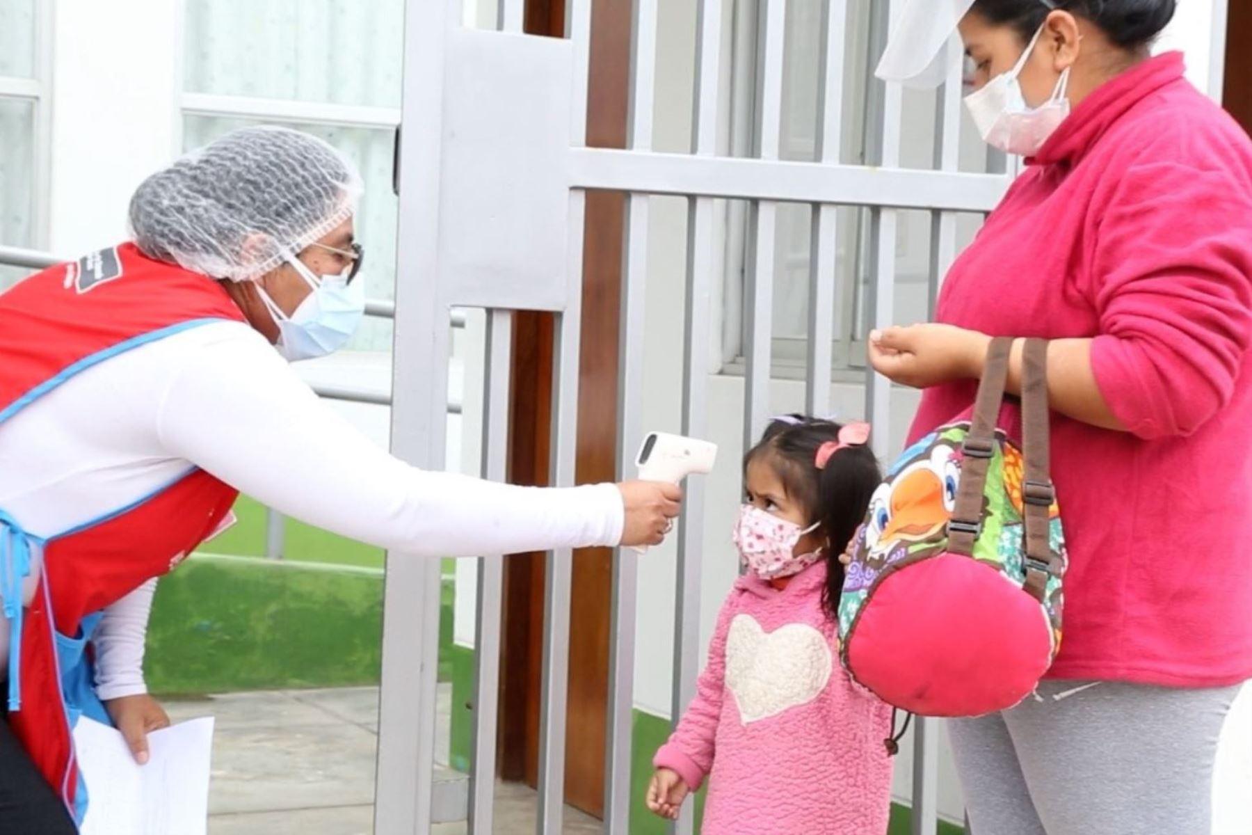 Cuna Más inicia piloto para la reactivación progresiva de sus servicios. Foto: ANDINA/Difusión.