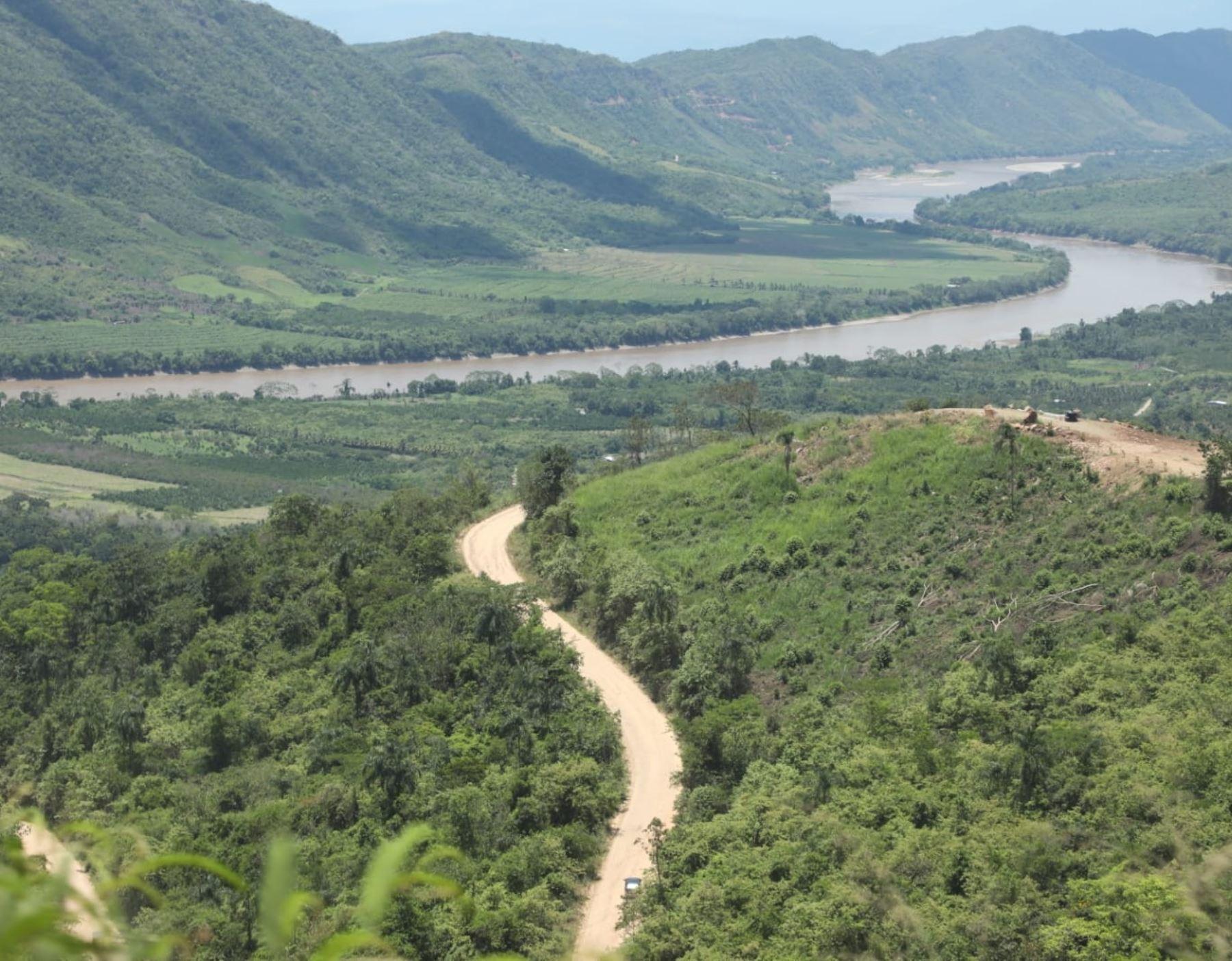 Gobierno impulsará el asfaltado de camino vecinal y construcción de puente en distrito de Sauce, región San Martín, para impulsar el desarrollo de este importante destino turístico. Foto: ANDINA/Difusión.