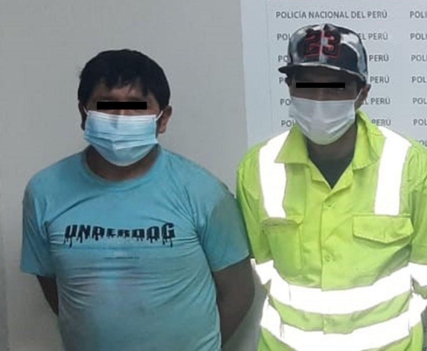 Policía recupera 700 kg de oro robado a compañías mineras de La Libertad