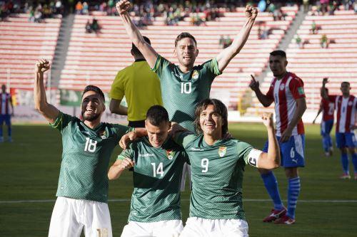 Eliminatorias Qatar 2022: Bolivia golea 4-0 a Paraguay en La Paz