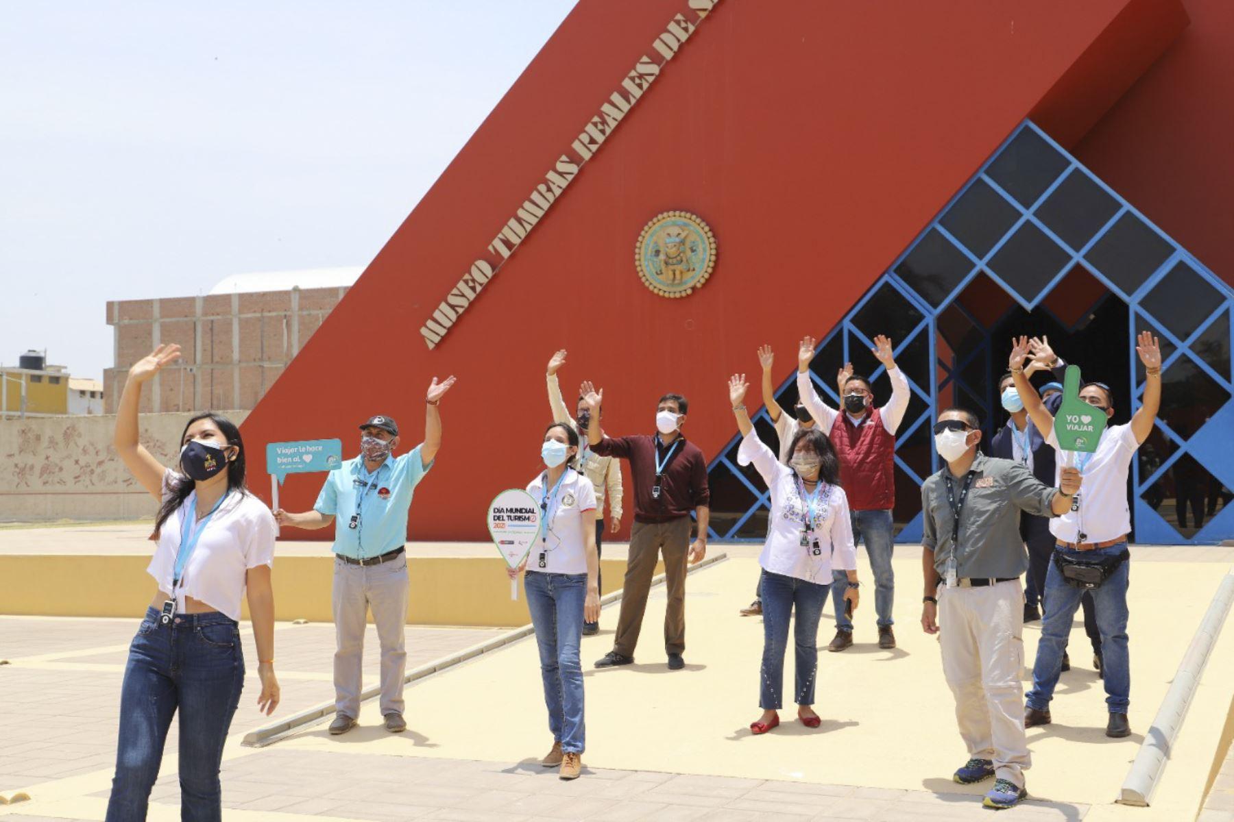 Más tiempo para la cultura: Museo Tumbas Reales de Sipán amplía horario de visitas